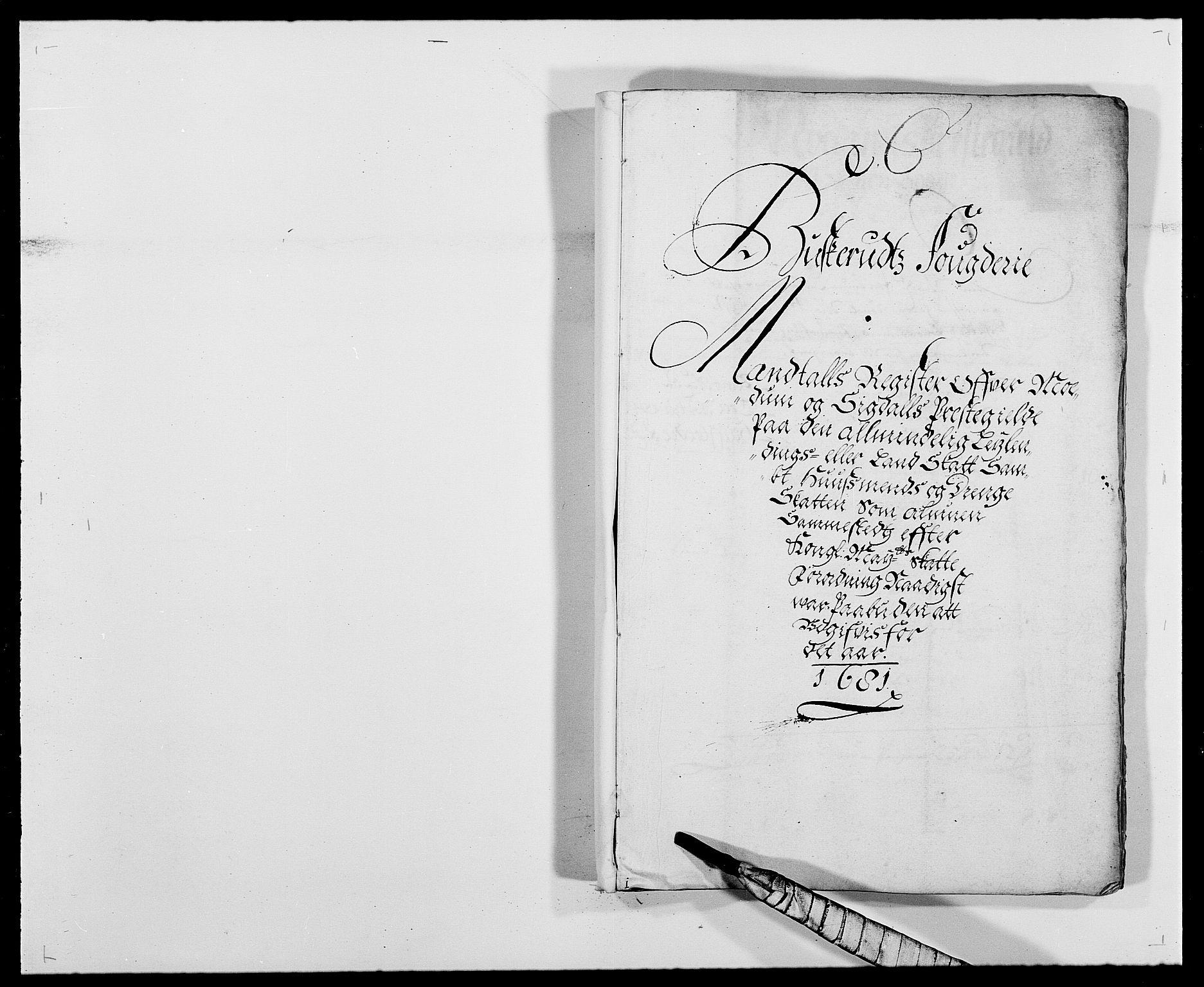 RA, Rentekammeret inntil 1814, Reviderte regnskaper, Fogderegnskap, R25/L1675: Fogderegnskap Buskerud, 1678-1681, s. 224