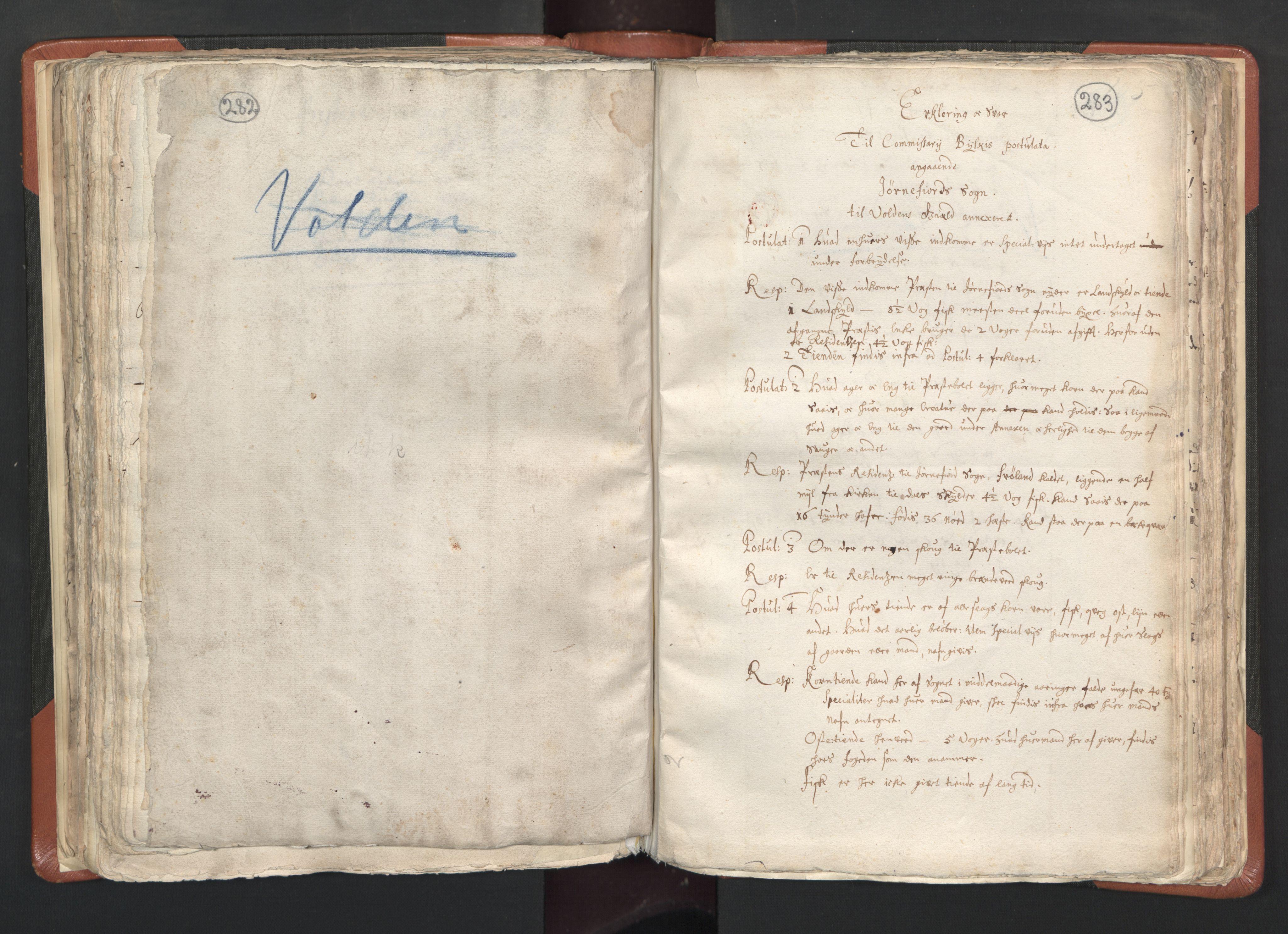 RA, Sogneprestenes manntall 1664-1666, nr. 26: Sunnmøre prosti, 1664-1666, s. 282-283