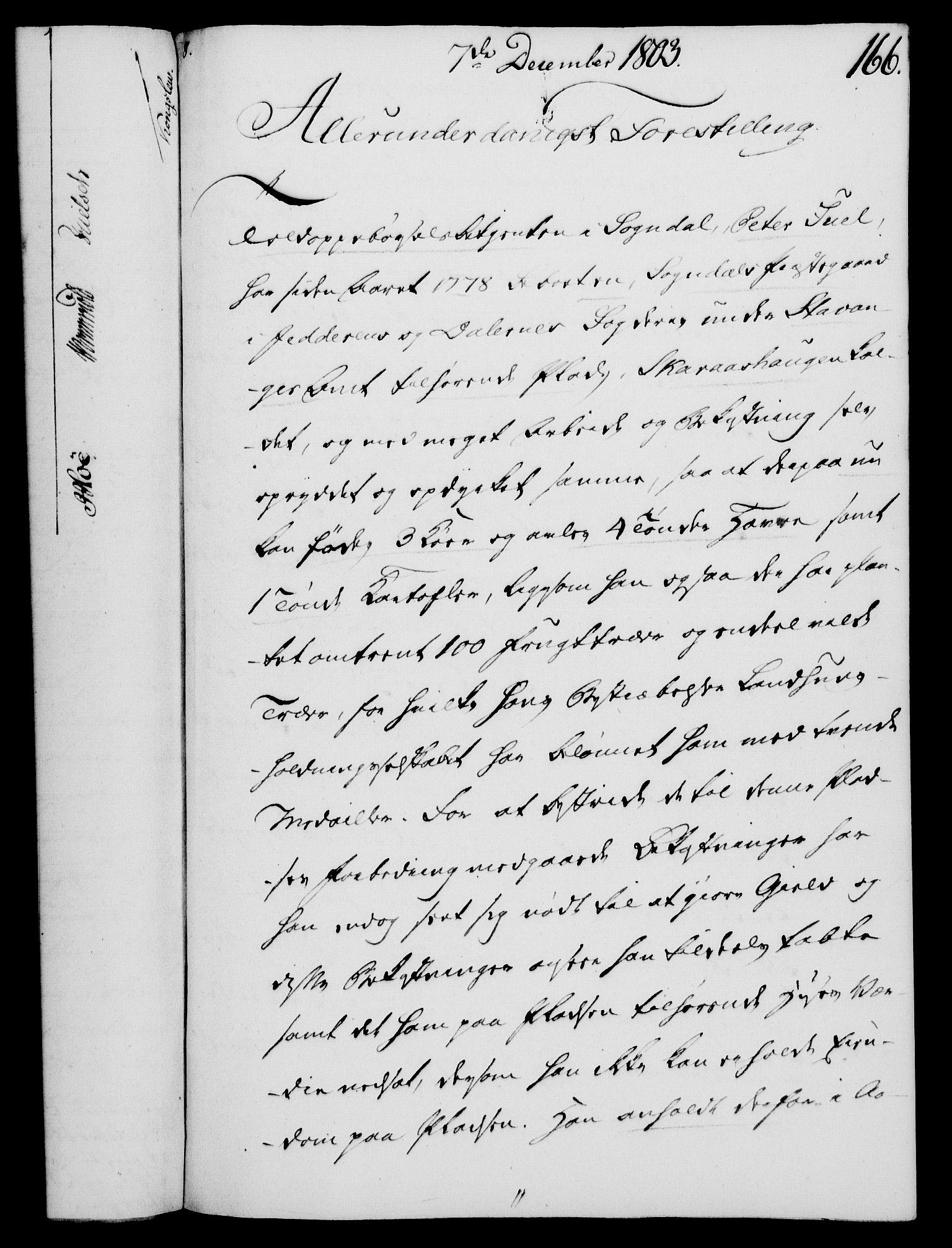 RA, Rentekammeret, Kammerkanselliet, G/Gf/Gfa/L0085: Norsk relasjons- og resolusjonsprotokoll (merket RK 52.85), 1803, s. 932