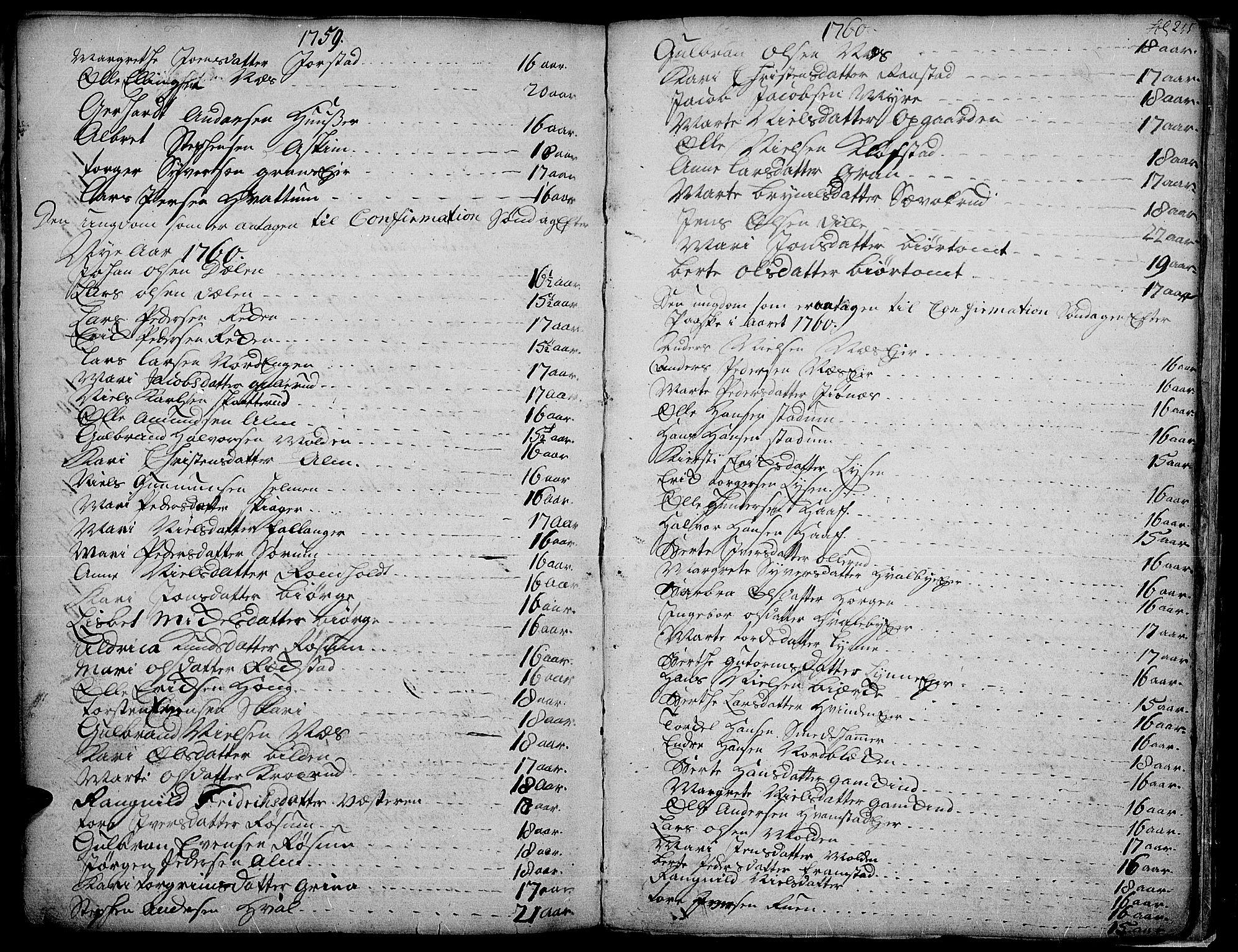 SAH, Gran prestekontor, Ministerialbok nr. 4, 1759-1775, s. 255