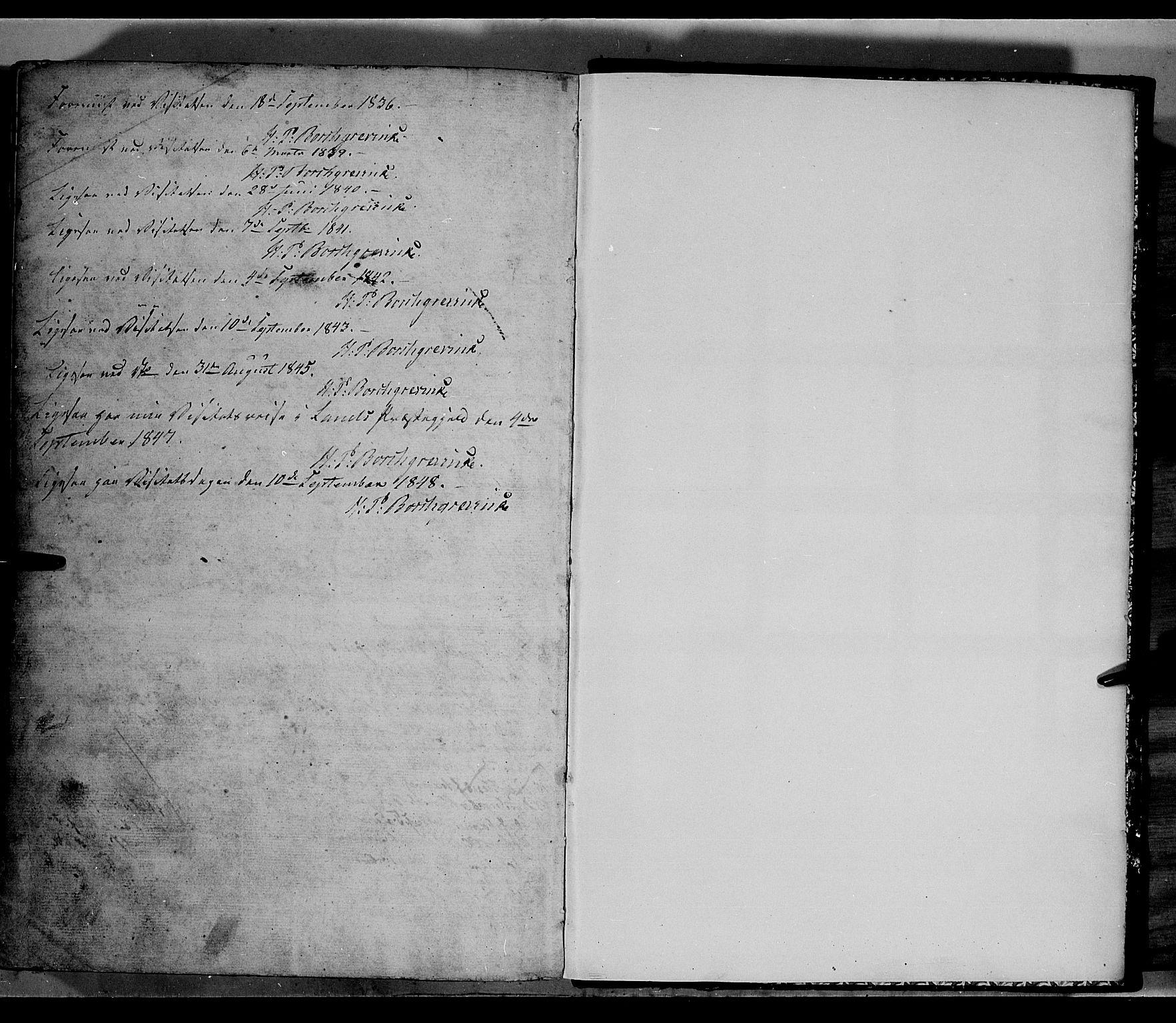 SAH, Land prestekontor, Klokkerbok nr. 2, 1833-1849, s. 278