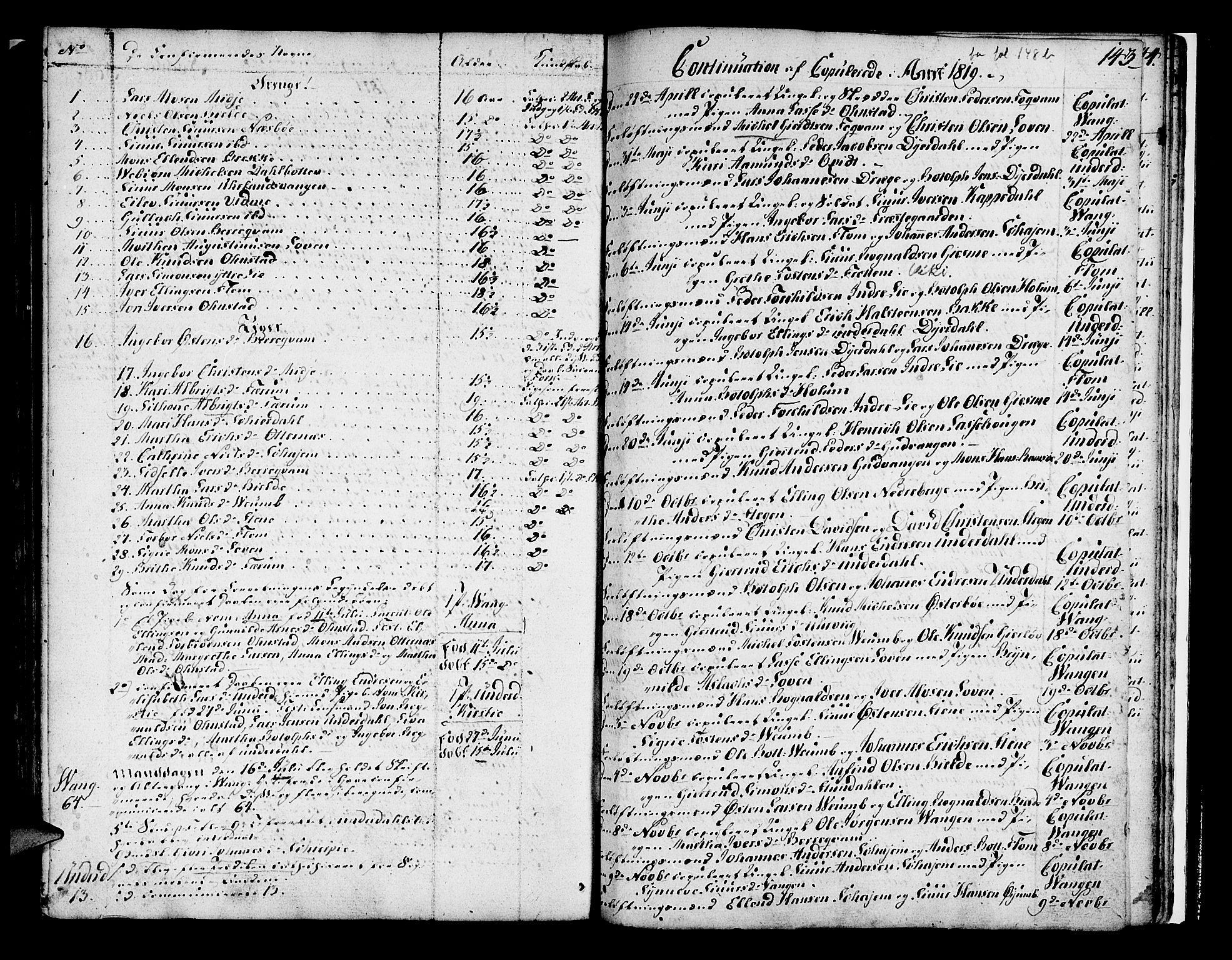 SAB, Aurland Sokneprestembete*, Ministerialbok nr. A 5, 1801-1821, s. 143