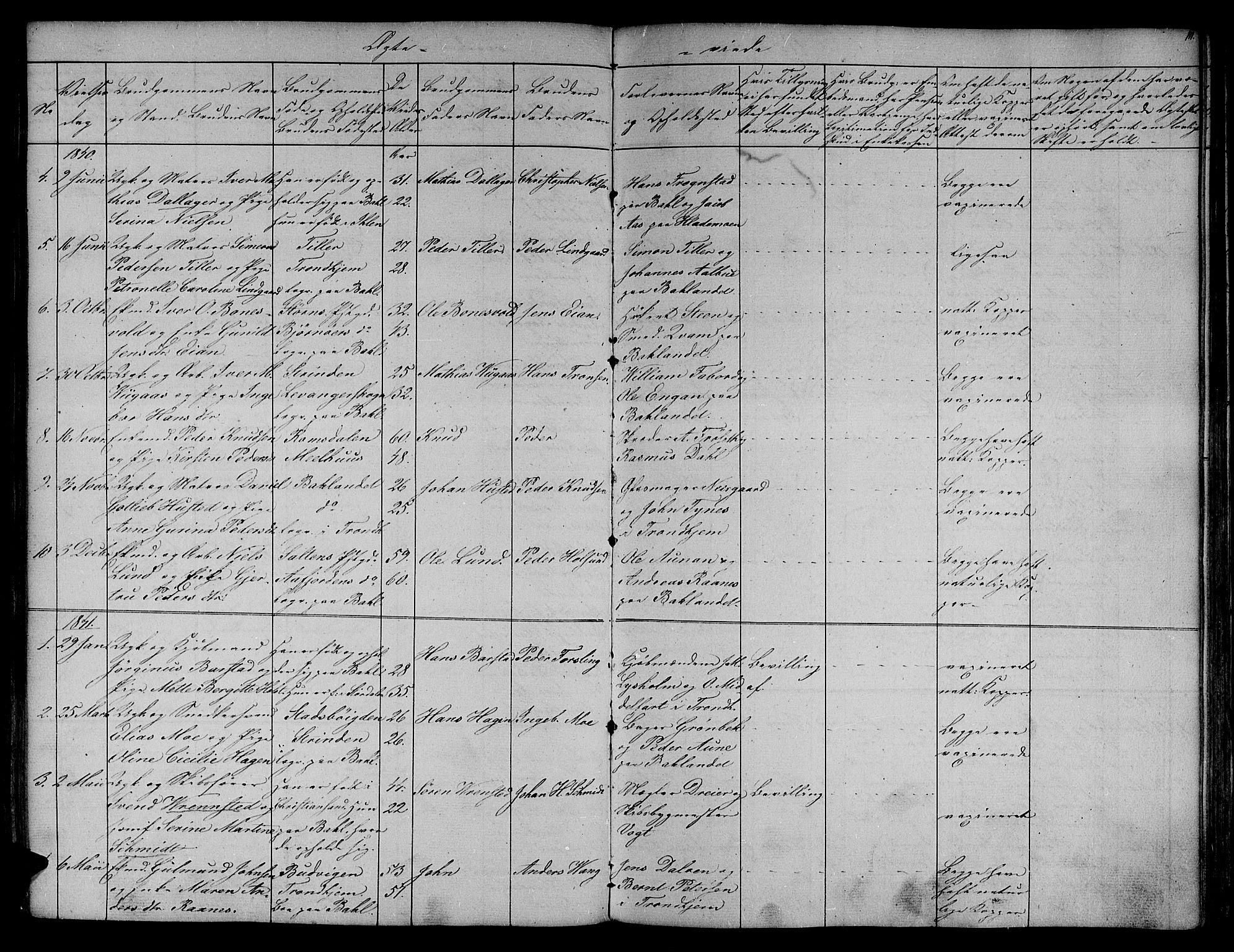 SAT, Ministerialprotokoller, klokkerbøker og fødselsregistre - Sør-Trøndelag, 604/L0182: Ministerialbok nr. 604A03, 1818-1850, s. 111