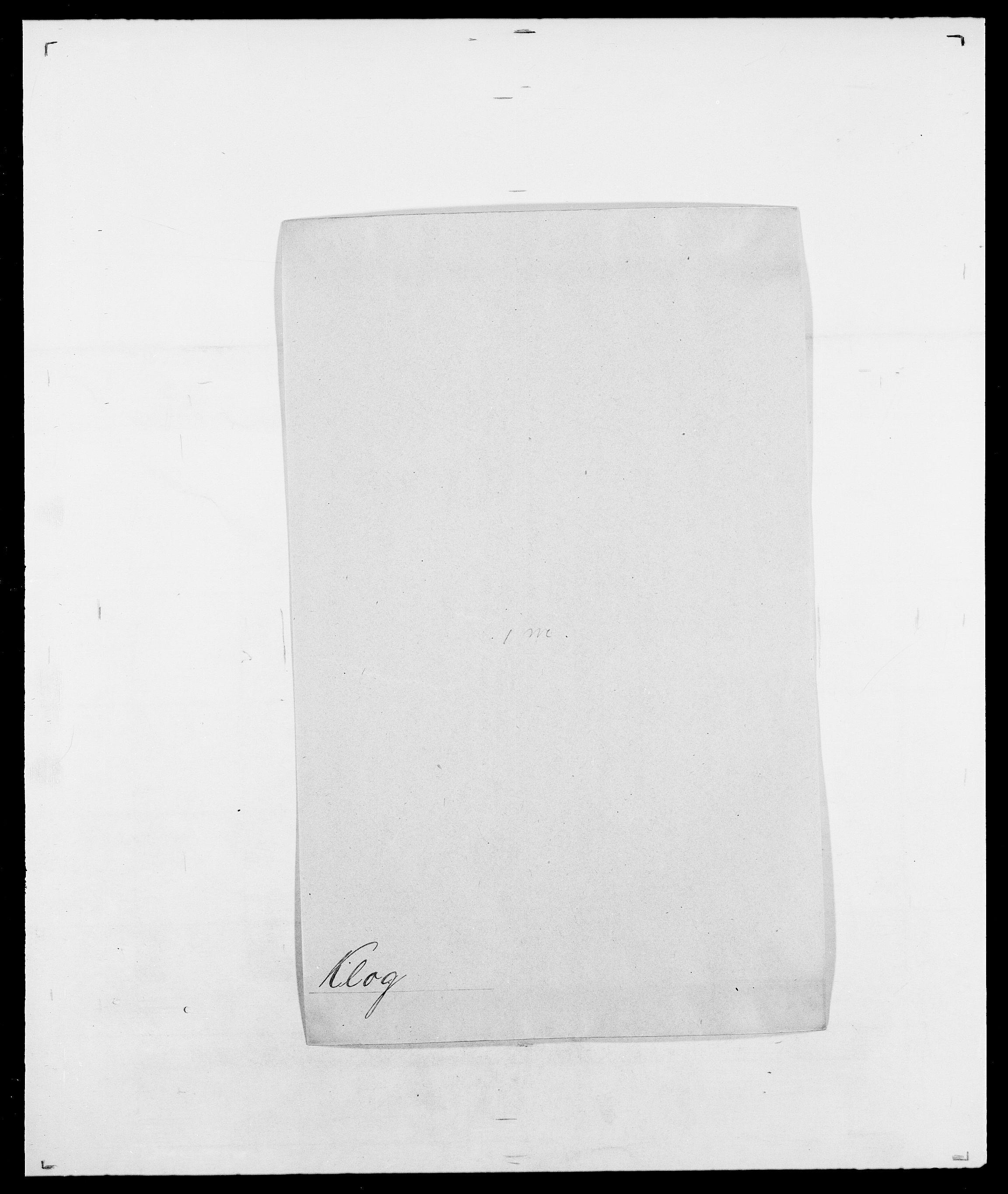 SAO, Delgobe, Charles Antoine - samling, D/Da/L0021: Klagenberg - Kristoft, s. 144