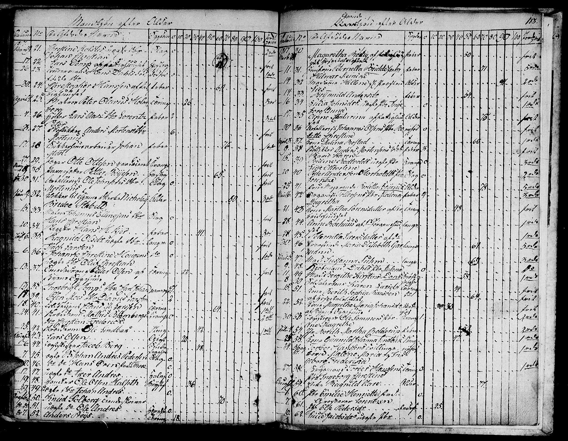 SAT, Ministerialprotokoller, klokkerbøker og fødselsregistre - Sør-Trøndelag, 601/L0040: Ministerialbok nr. 601A08, 1783-1818, s. 113