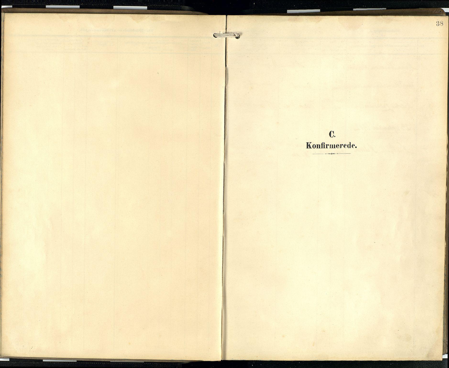SAB, Privatarkiv 100 - Den norske sjømannsmisjon i utlandet/Skotske havner (Leith, Glasgow), H/Ha/Hab/L0001: Ministerialbok nr. A 1, 1902-1931, s. 37b-38a