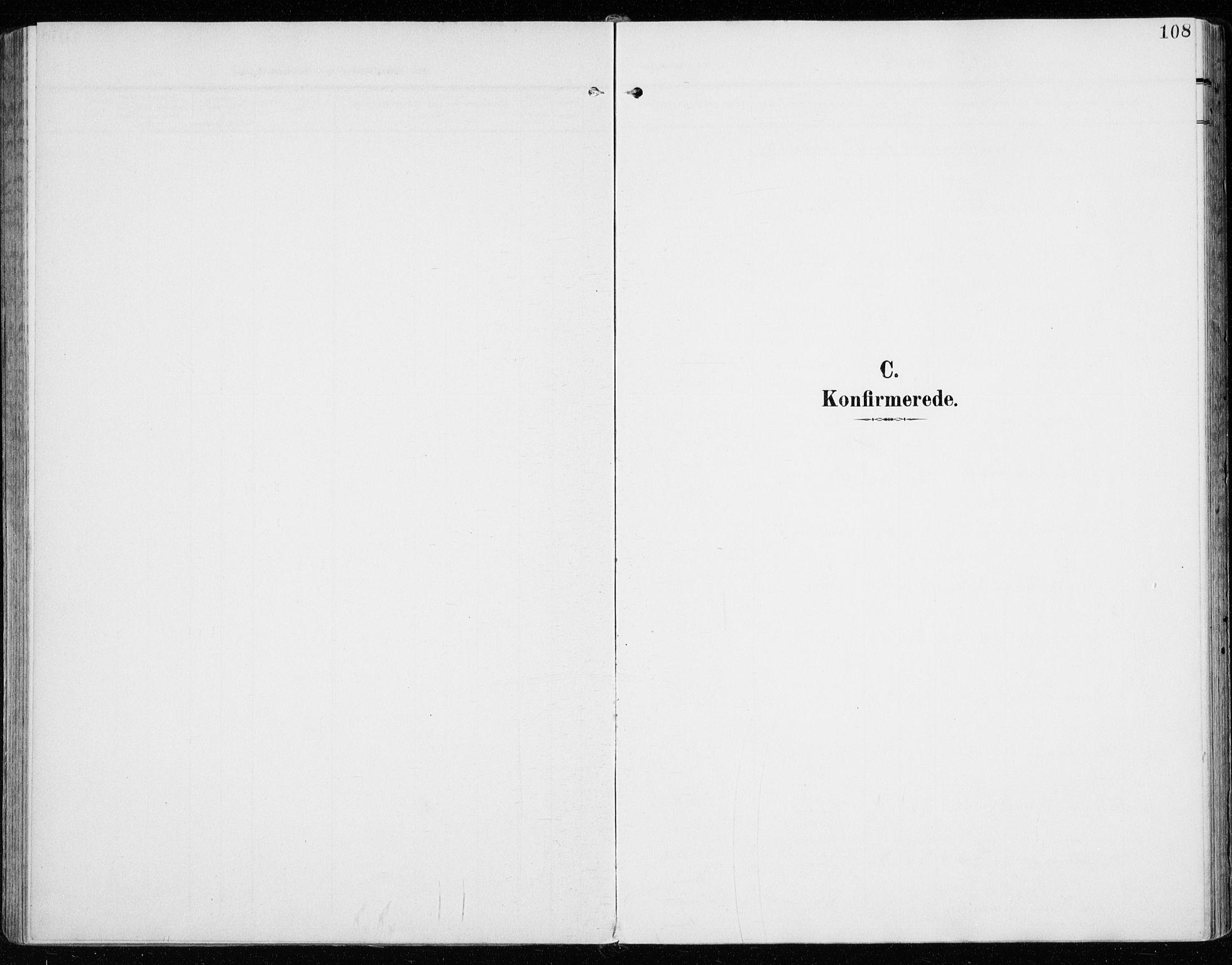 SAH, Vardal prestekontor, H/Ha/Haa/L0016: Ministerialbok nr. 16, 1904-1916, s. 108