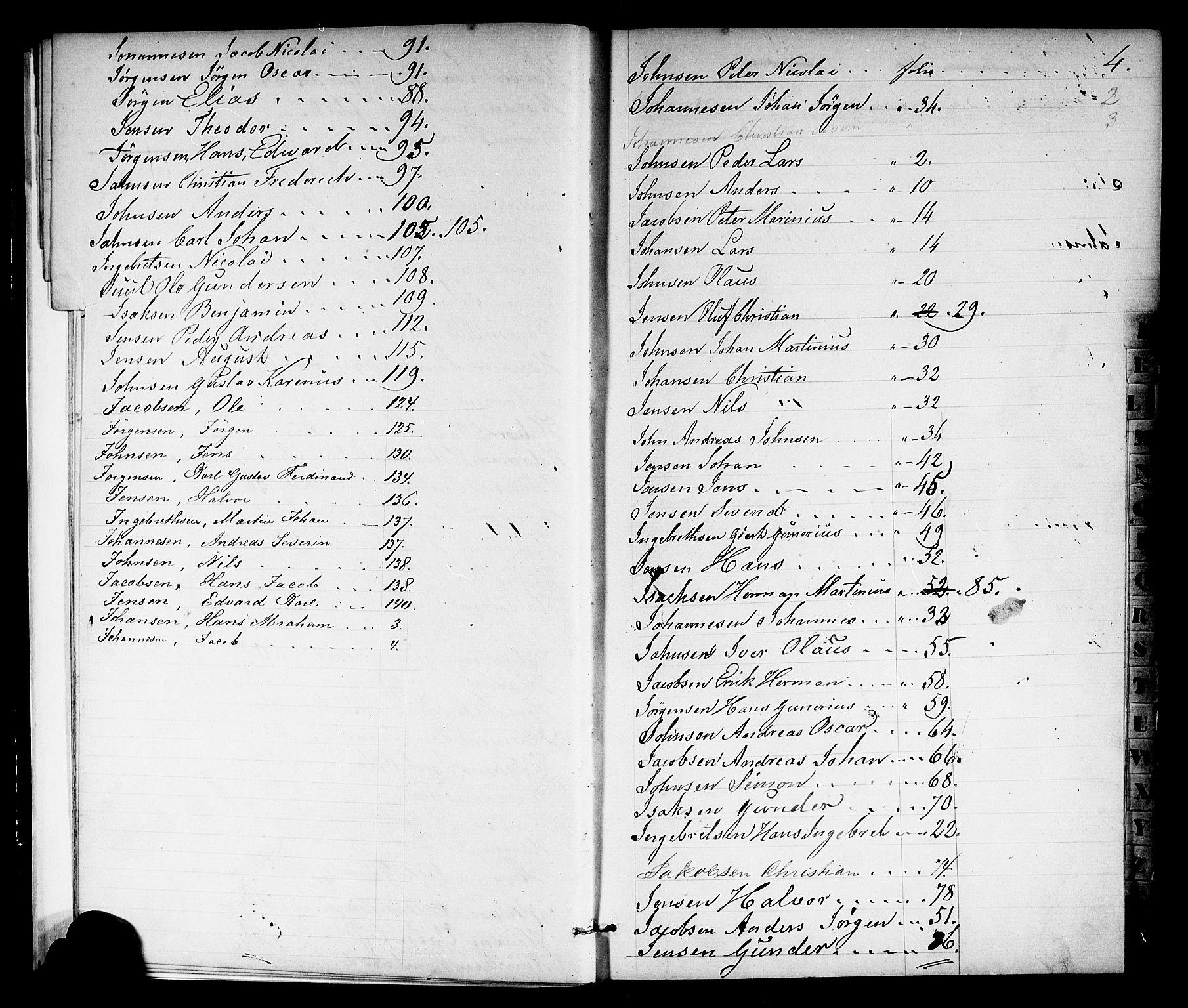 SAKO, Porsgrunn innrulleringskontor, F/Fb/L0001: Annotasjonsrulle, 1860-1868, s. 11