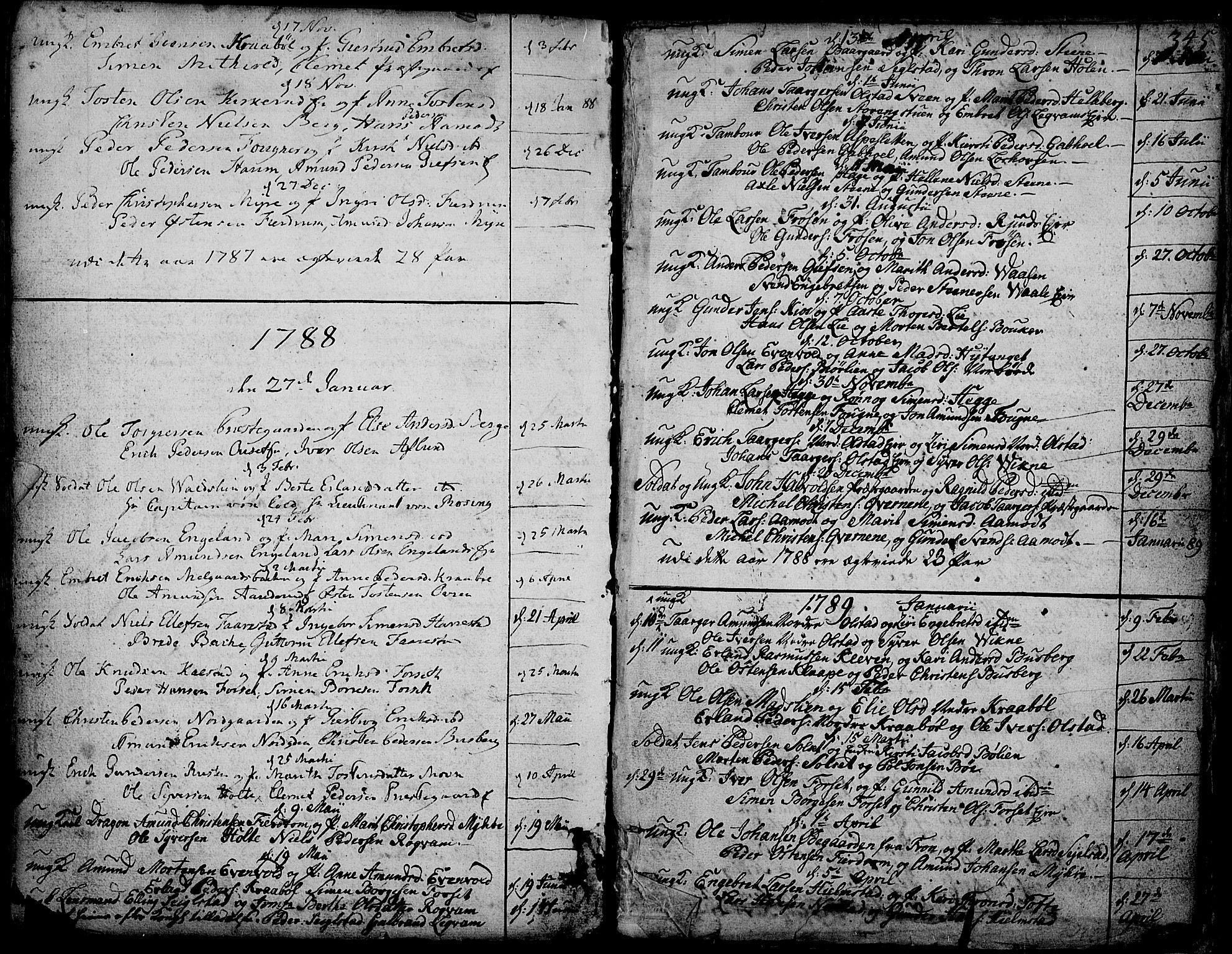 SAH, Gausdal prestekontor, Ministerialbok nr. 3, 1758-1809, s. 345