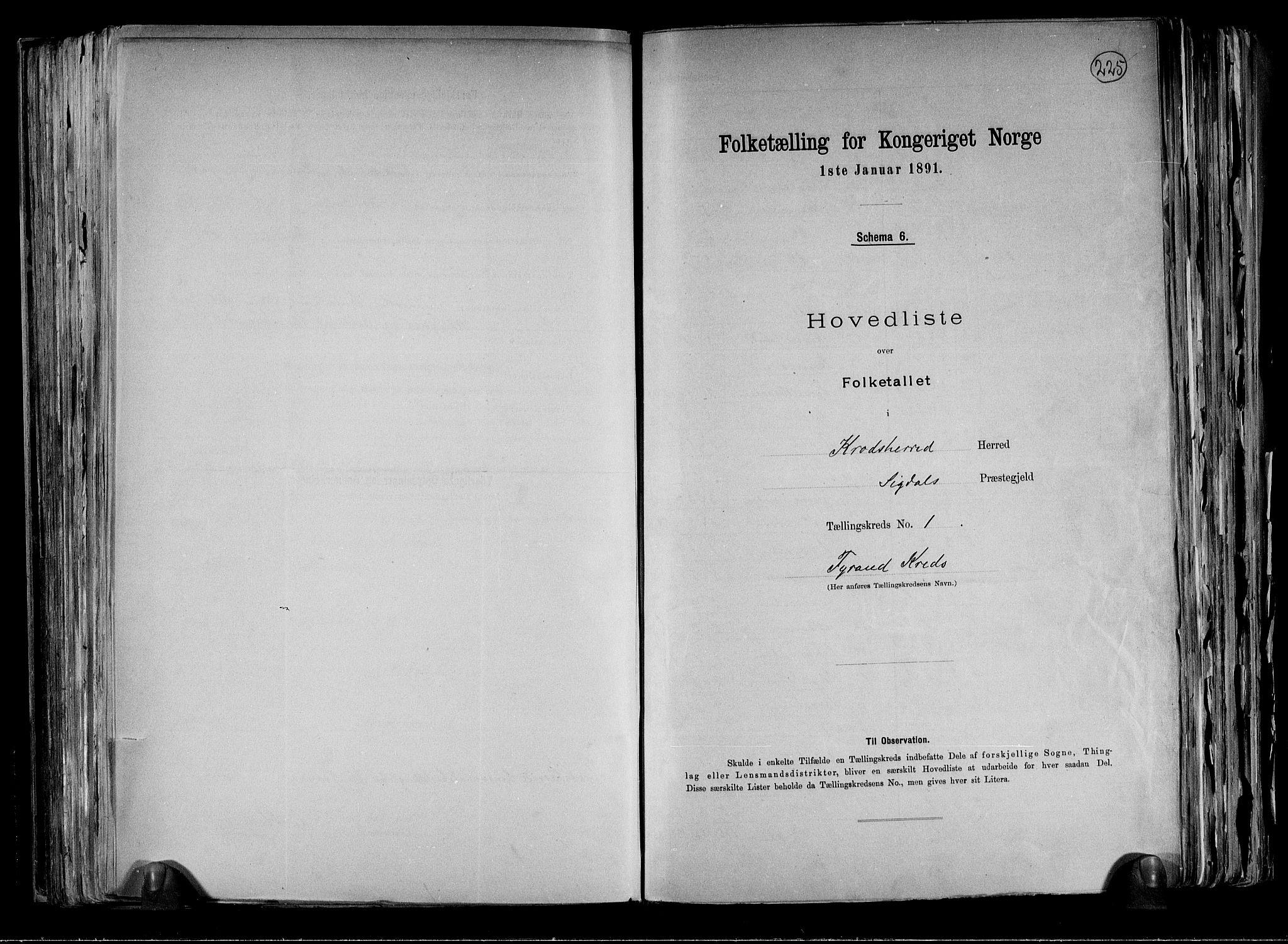 RA, Folketelling 1891 for 0621 Sigdal herred, 1891, s. 38