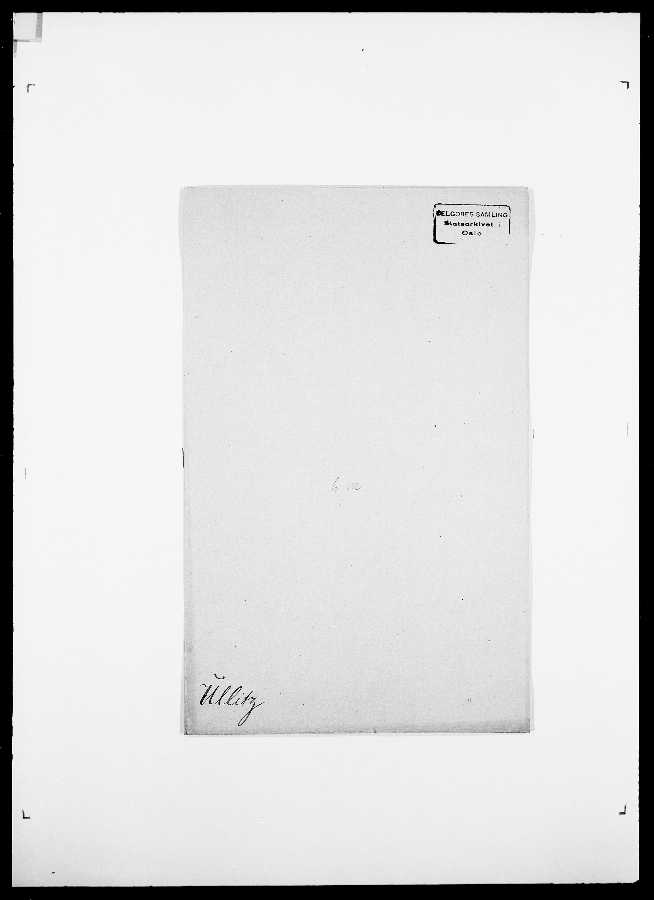 SAO, Delgobe, Charles Antoine - samling, D/Da/L0039: Thorsen - Urup, s. 667