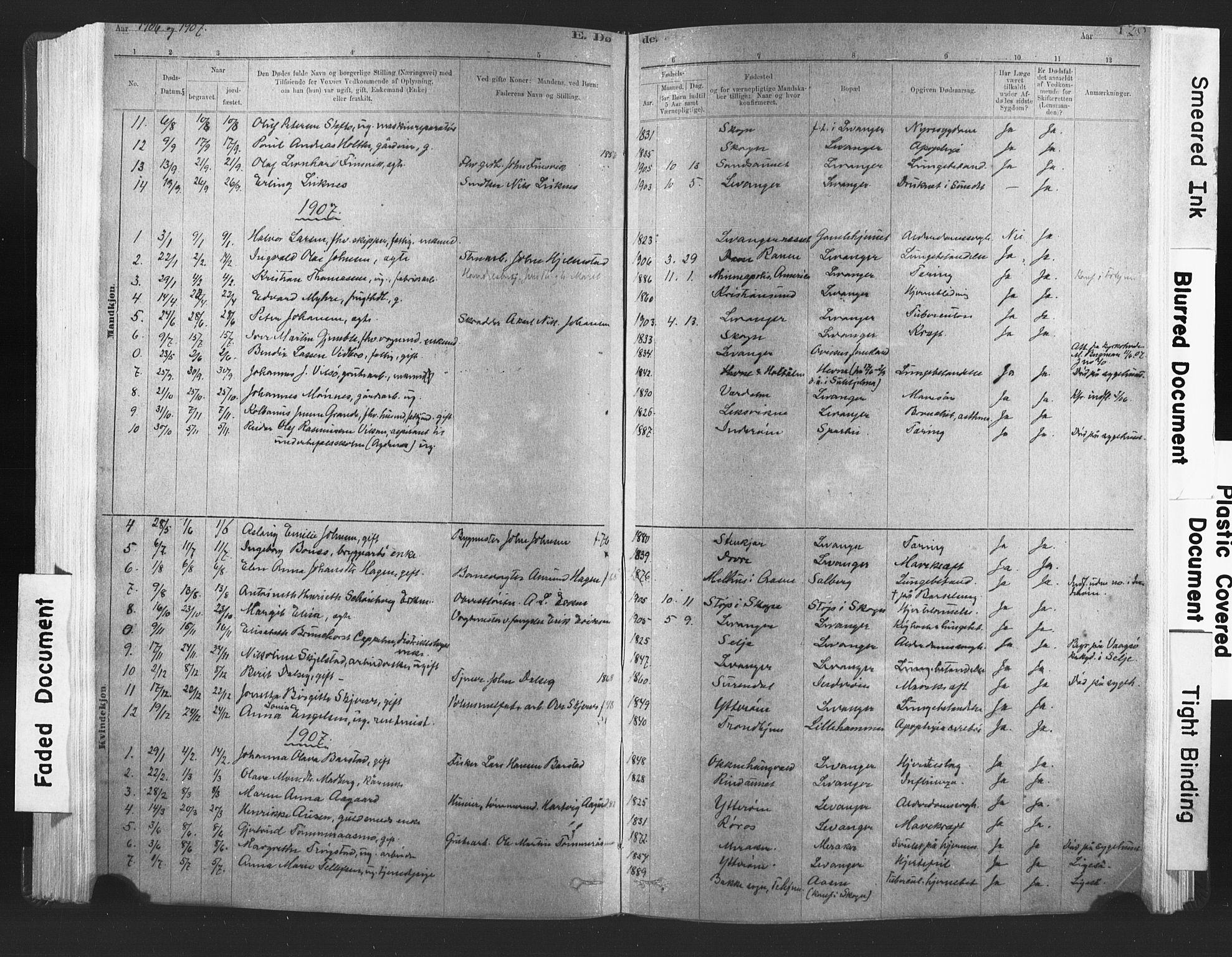 SAT, Ministerialprotokoller, klokkerbøker og fødselsregistre - Nord-Trøndelag, 720/L0189: Ministerialbok nr. 720A05, 1880-1911, s. 128