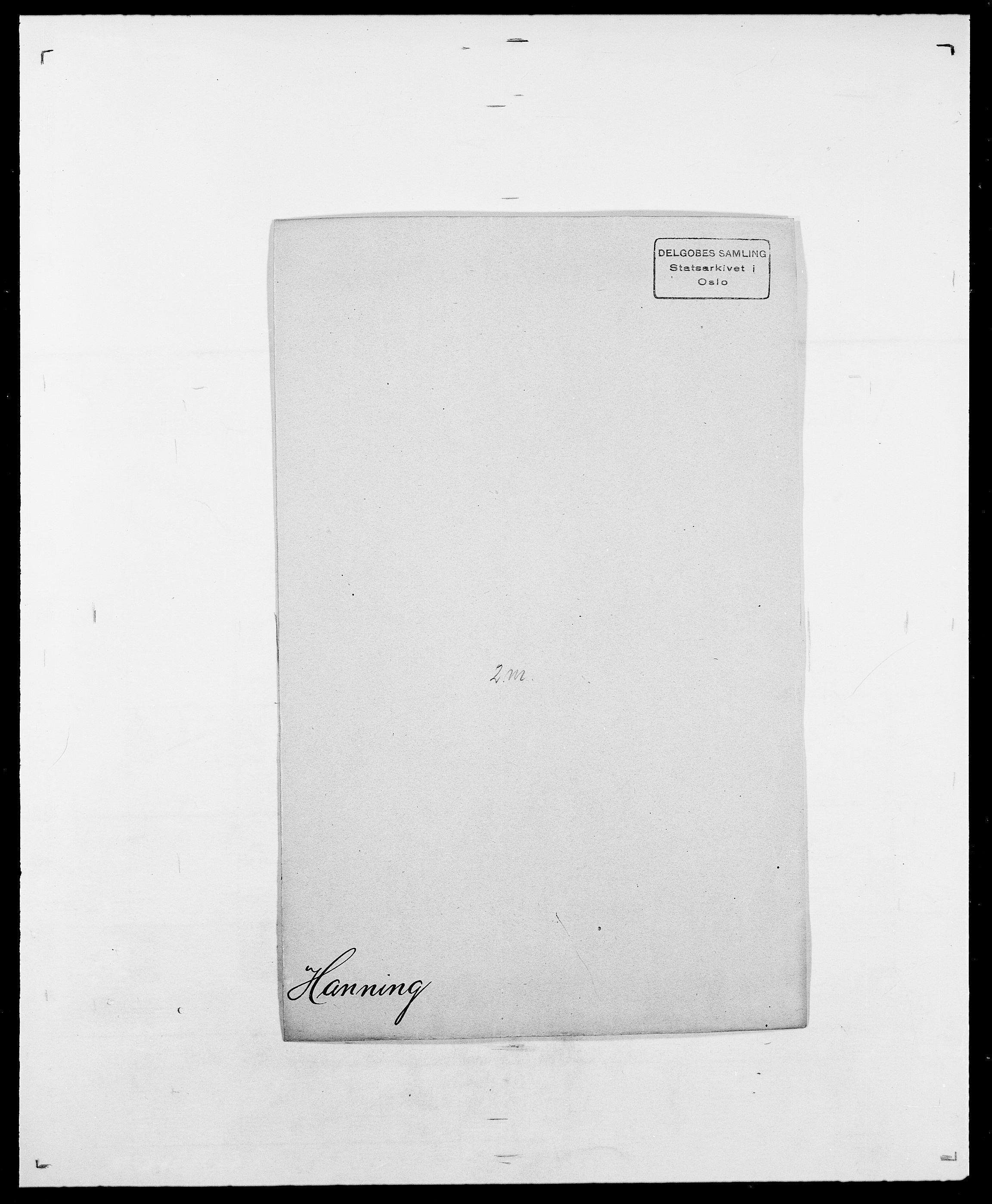 SAO, Delgobe, Charles Antoine - samling, D/Da/L0016: Hamborg - Hektoen, s. 129