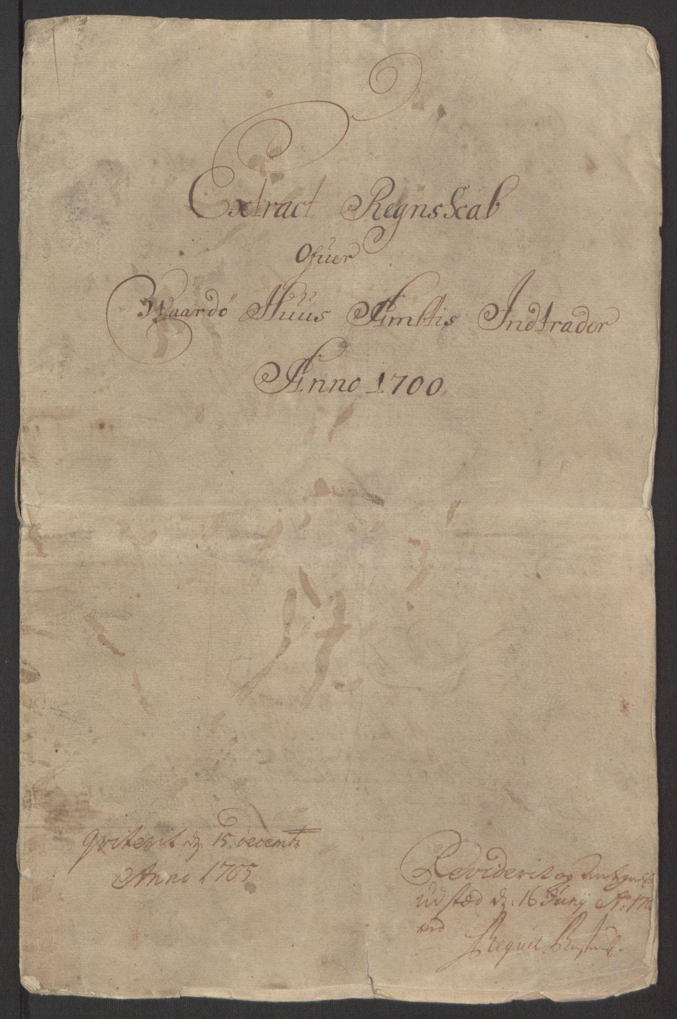 RA, Rentekammeret inntil 1814, Reviderte regnskaper, Fogderegnskap, R69/L4851: Fogderegnskap Finnmark/Vardøhus, 1691-1700, s. 416