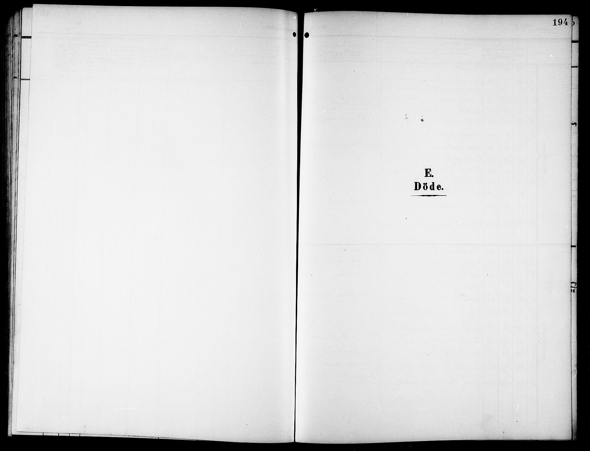 SAT, Ministerialprotokoller, klokkerbøker og fødselsregistre - Nordland, 846/L0647: Klokkerbok nr. 846C05, 1902-1916, s. 194