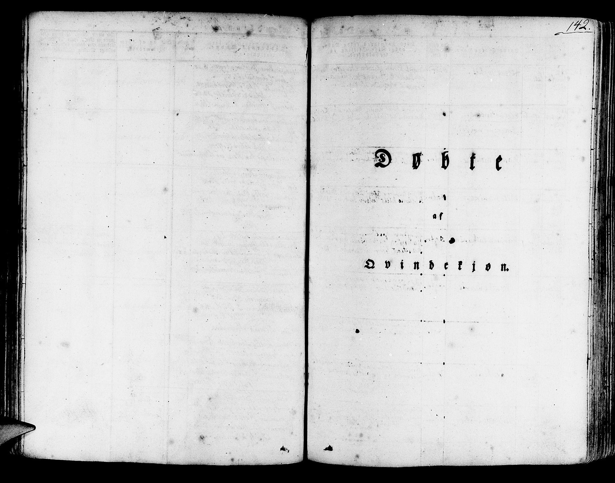 SAB, Korskirken Sokneprestembete, H/Haa/L0014: Ministerialbok nr. A 14, 1823-1835, s. 142