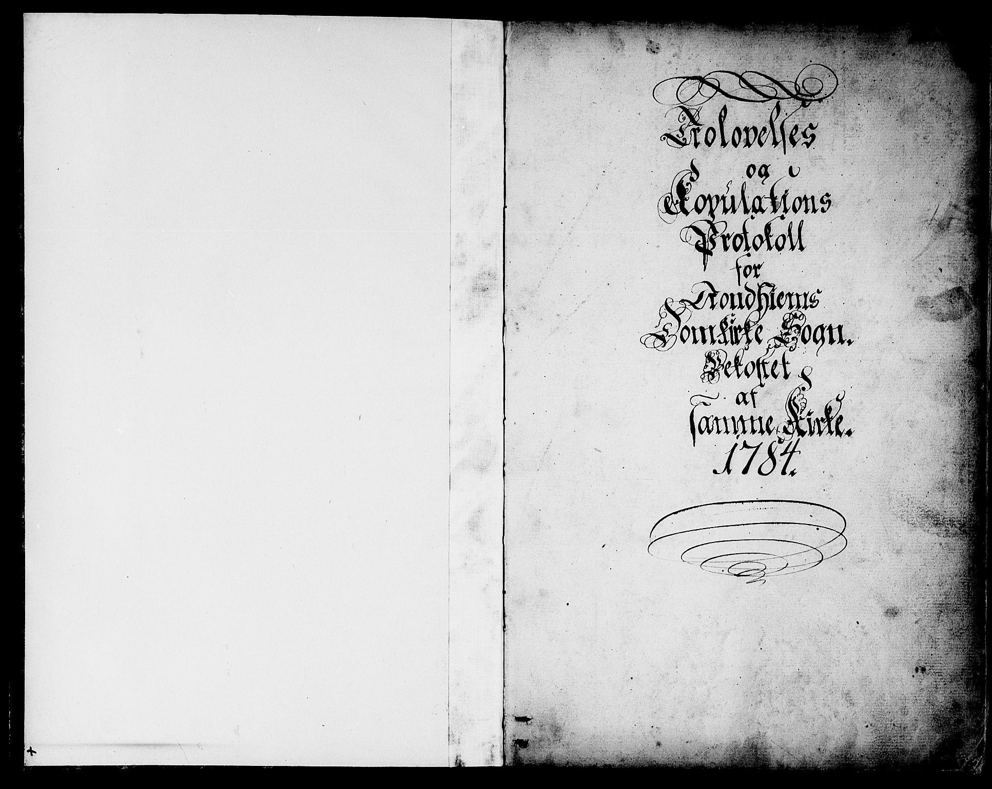 SAT, Ministerialprotokoller, klokkerbøker og fødselsregistre - Sør-Trøndelag, 601/L0041: Ministerialbok nr. 601A09, 1784-1801, s. 1