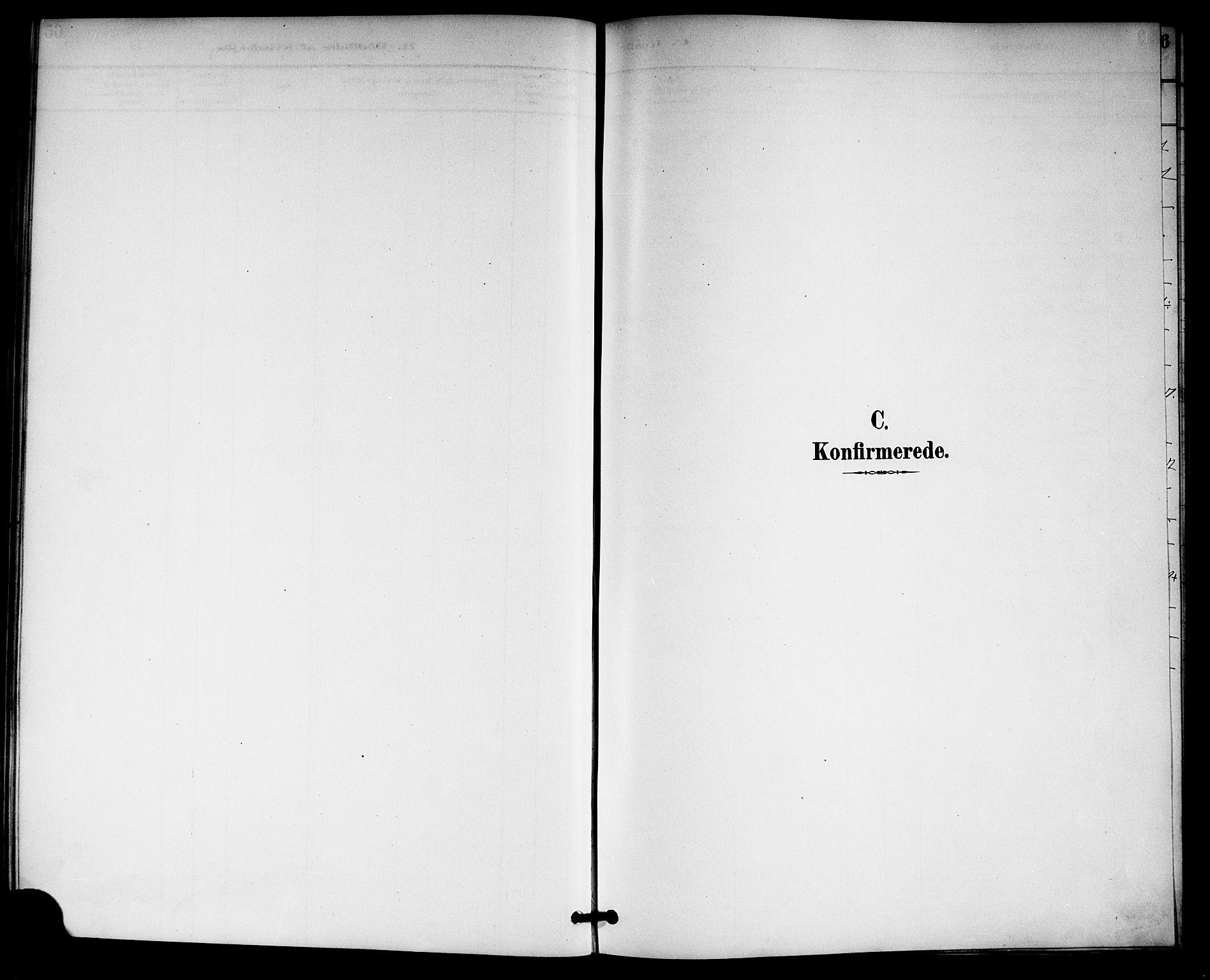 SAKO, Gransherad kirkebøker, G/Gb/L0003: Klokkerbok nr. II 3, 1887-1921