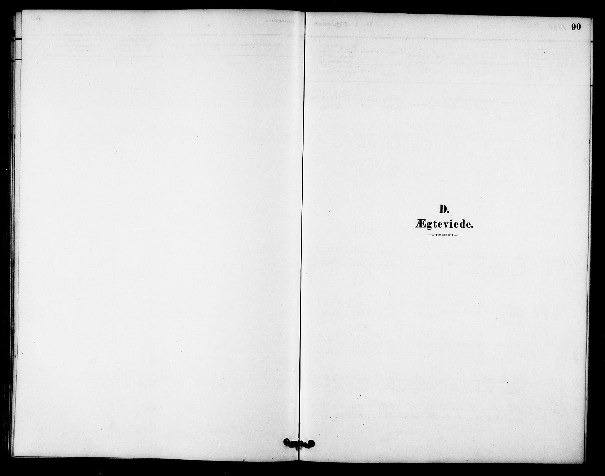 SAT, Ministerialprotokoller, klokkerbøker og fødselsregistre - Sør-Trøndelag, 618/L0444: Ministerialbok nr. 618A07, 1880-1898, s. 90