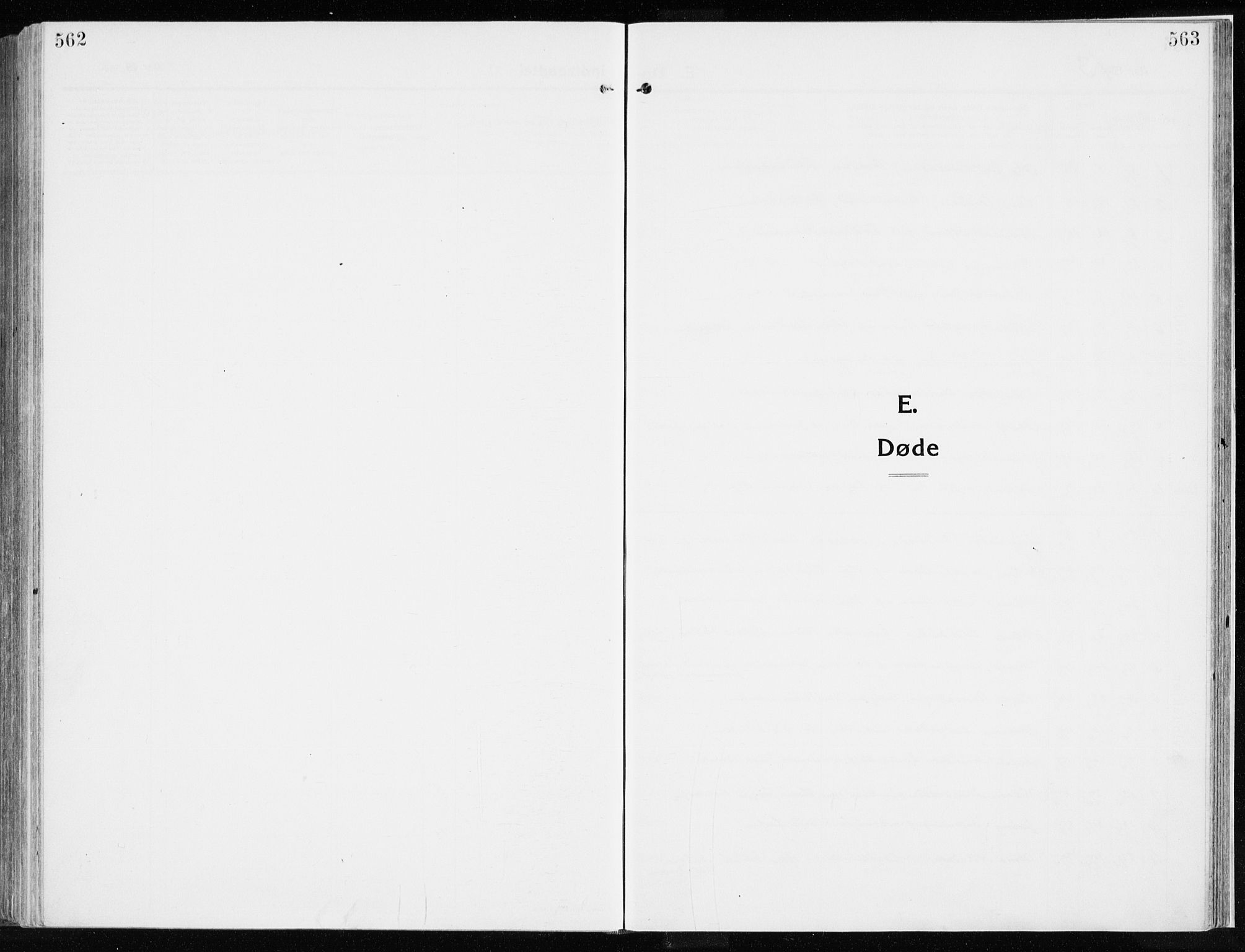 SAH, Ringsaker prestekontor, K/Ka/L0020: Ministerialbok nr. 20, 1913-1922, s. 562-563