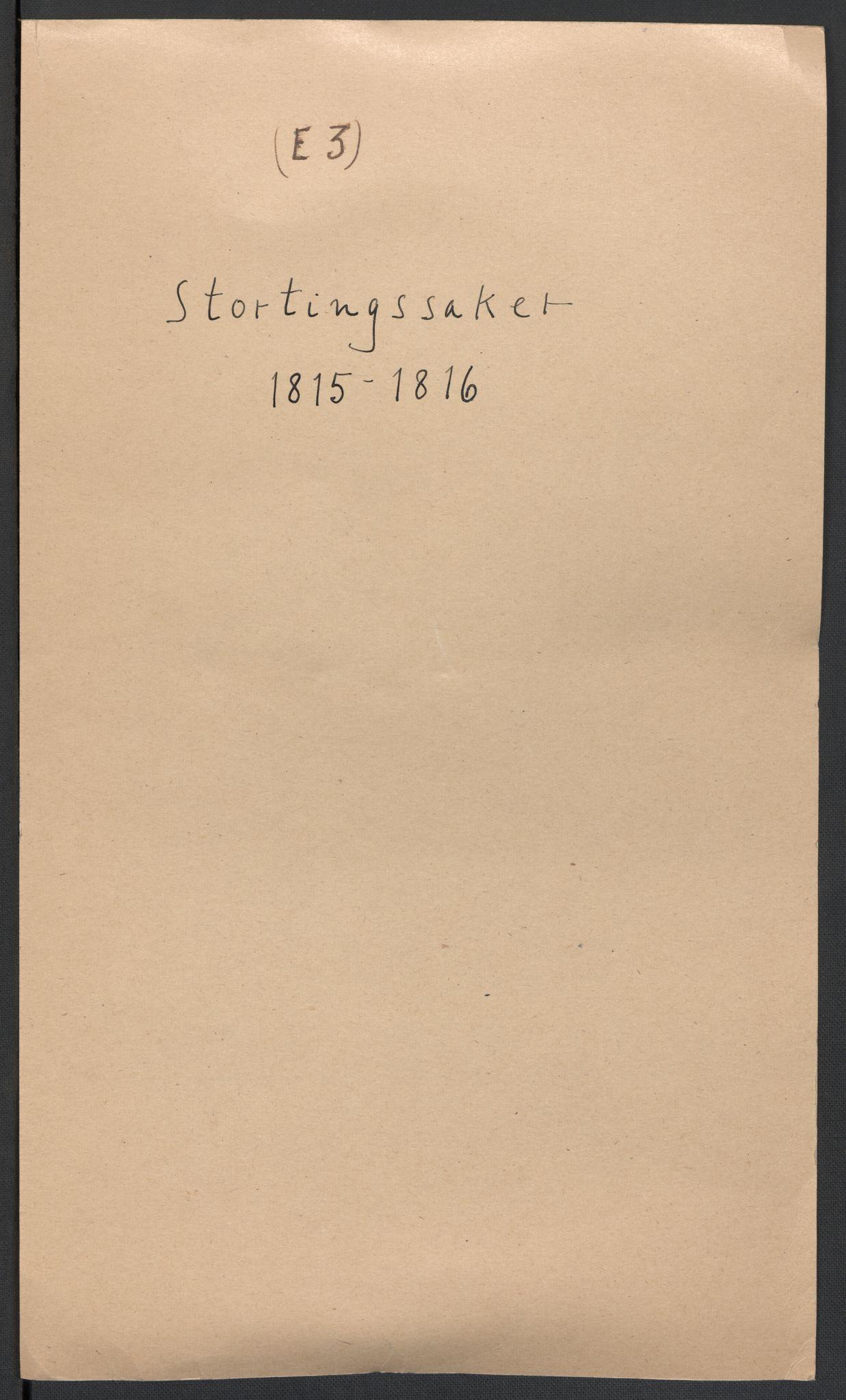 RA, Christie, Wilhelm Frimann Koren, F/L0005, 1815-1816, s. 105