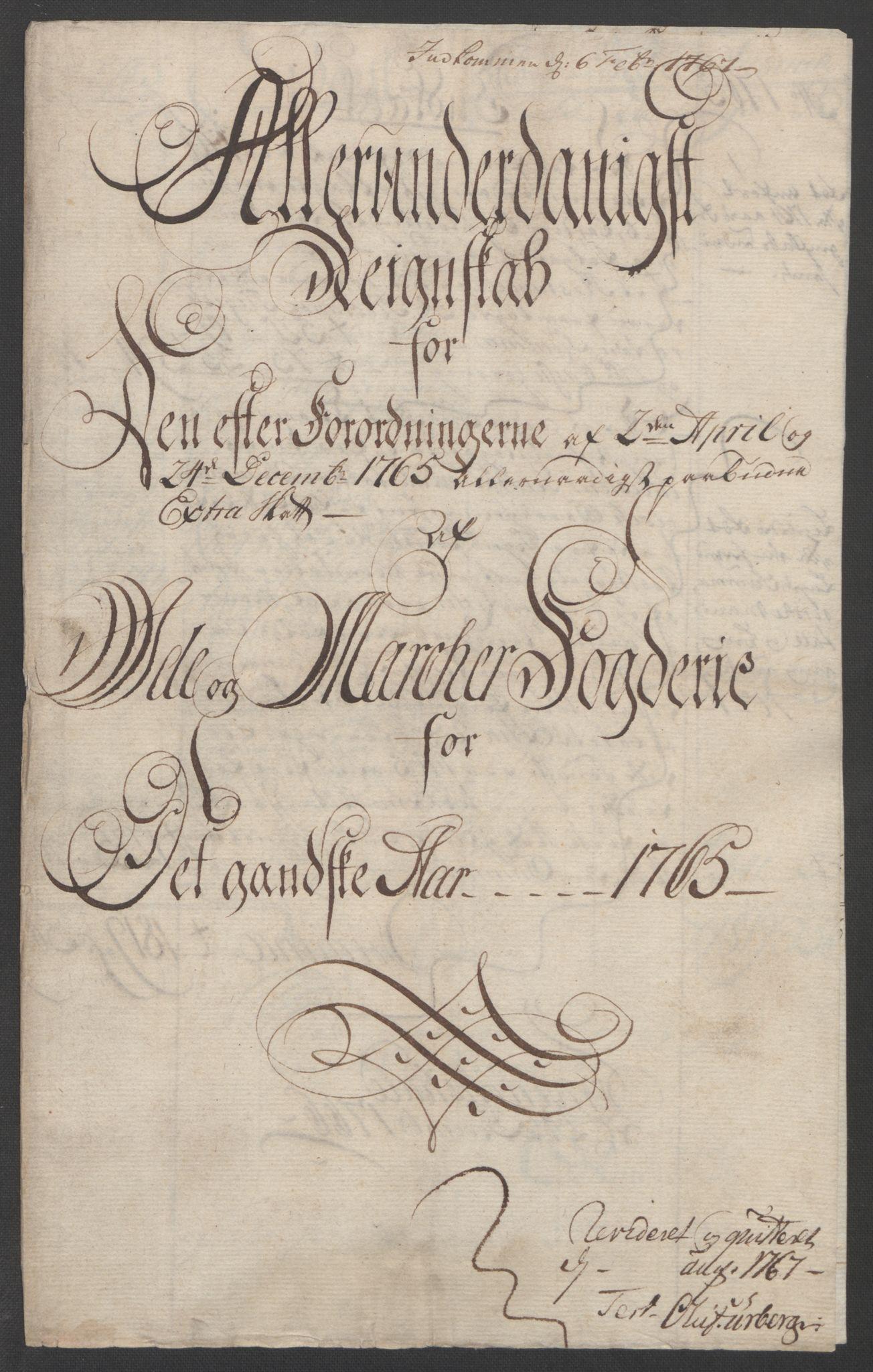 RA, Rentekammeret inntil 1814, Reviderte regnskaper, Fogderegnskap, R01/L0097: Ekstraskatten Idd og Marker, 1756-1767, s. 245