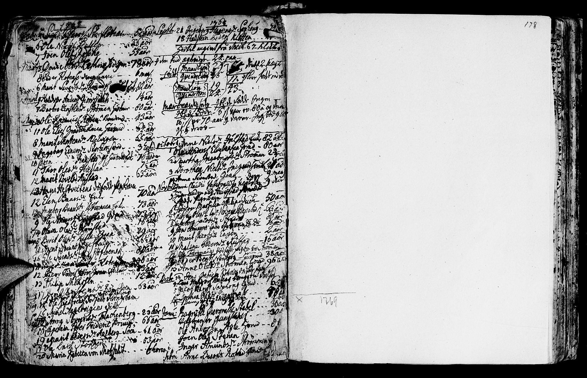 SAT, Ministerialprotokoller, klokkerbøker og fødselsregistre - Nord-Trøndelag, 730/L0273: Ministerialbok nr. 730A02, 1762-1802, s. 178