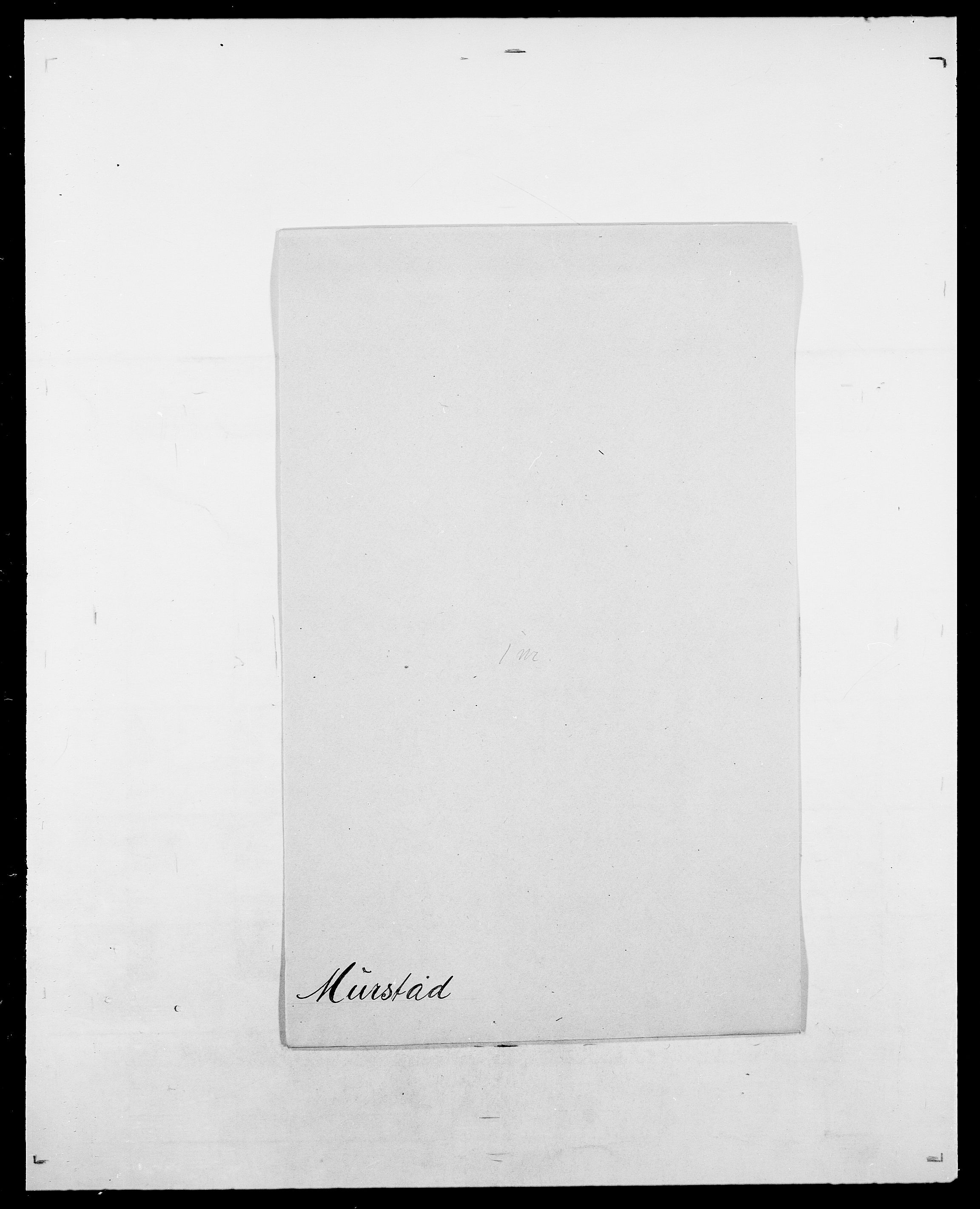 SAO, Delgobe, Charles Antoine - samling, D/Da/L0027: Morath - v. Møsting, s. 272