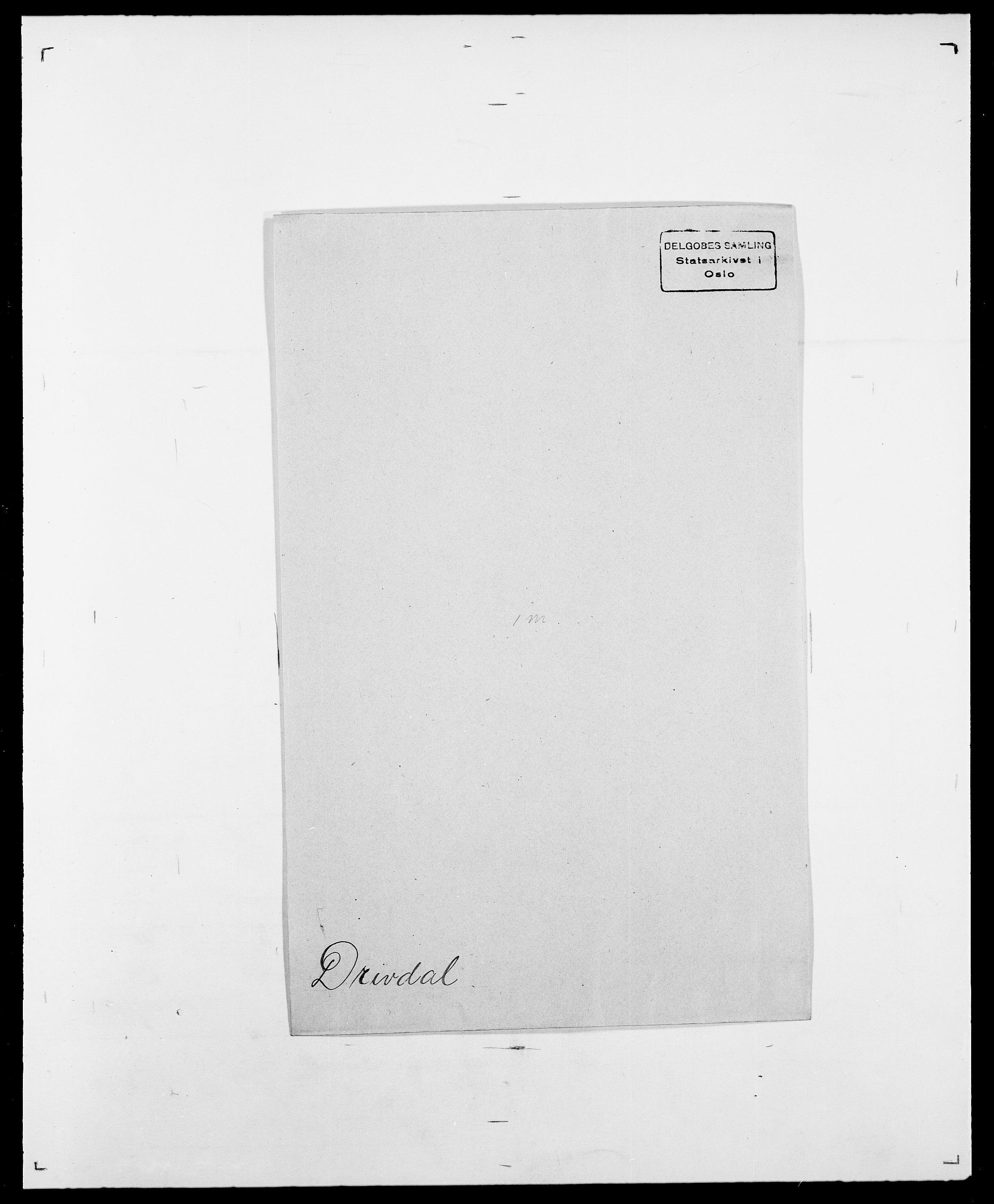 SAO, Delgobe, Charles Antoine - samling, D/Da/L0009: Dahl - v. Düren, s. 788