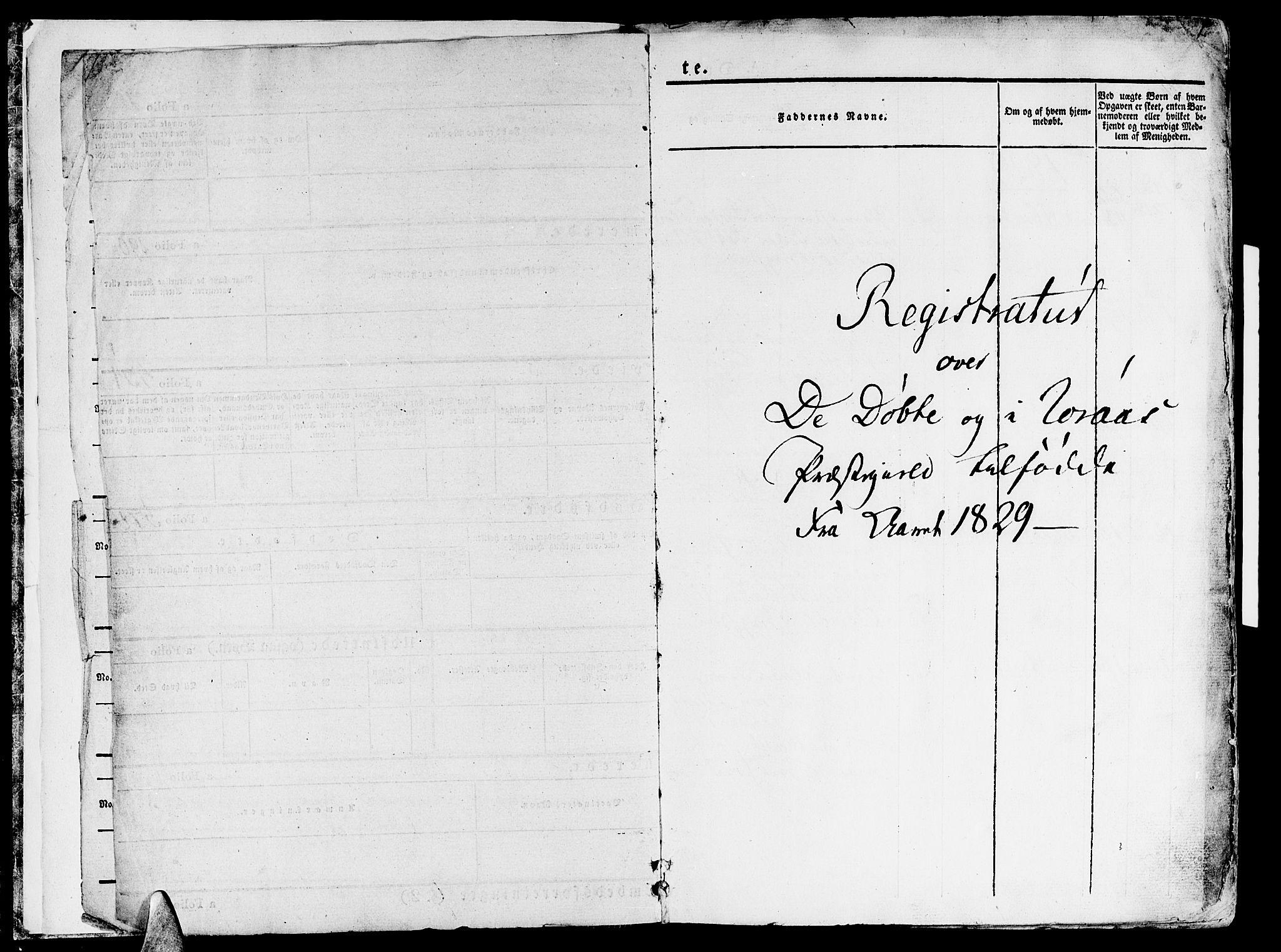 SAT, Ministerialprotokoller, klokkerbøker og fødselsregistre - Sør-Trøndelag, 681/L0930: Ministerialbok nr. 681A08, 1829-1844, s. 1
