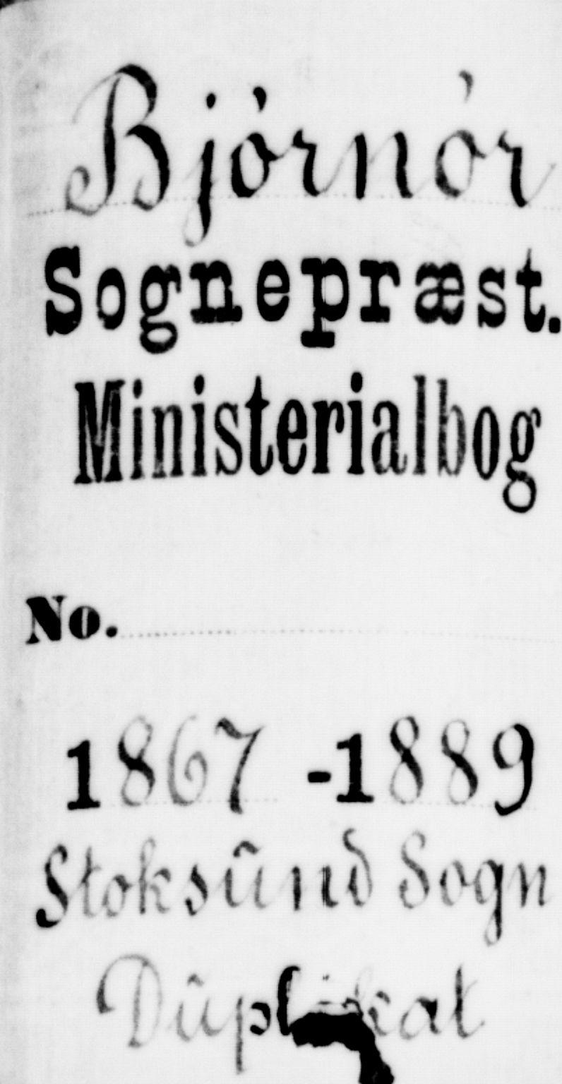 SAT, Ministerialprotokoller, klokkerbøker og fødselsregistre - Sør-Trøndelag, 656/L0695: Klokkerbok nr. 656C01, 1867-1889