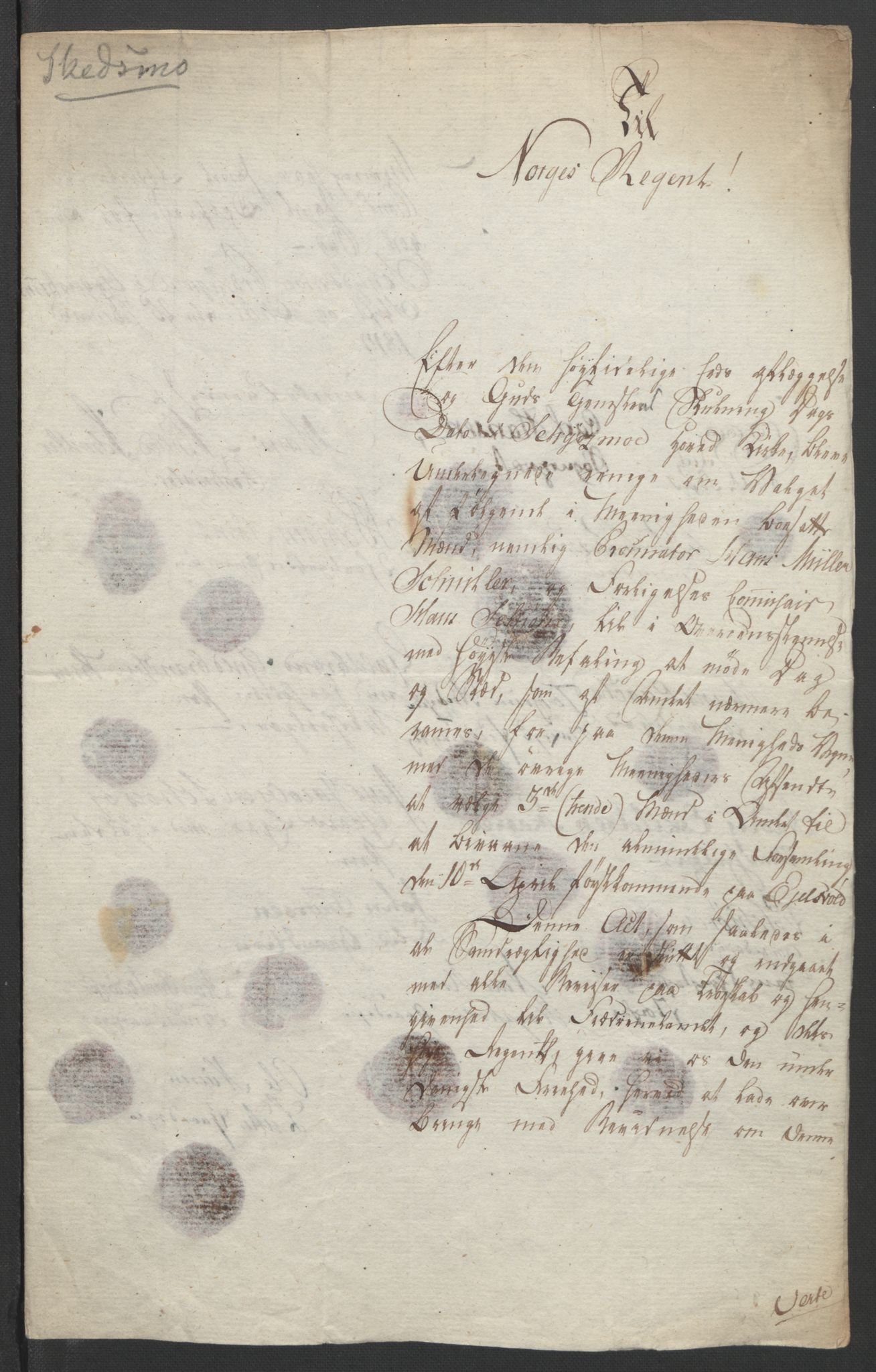 RA, Statsrådssekretariatet, D/Db/L0007: Fullmakter for Eidsvollsrepresentantene i 1814. , 1814, s. 202