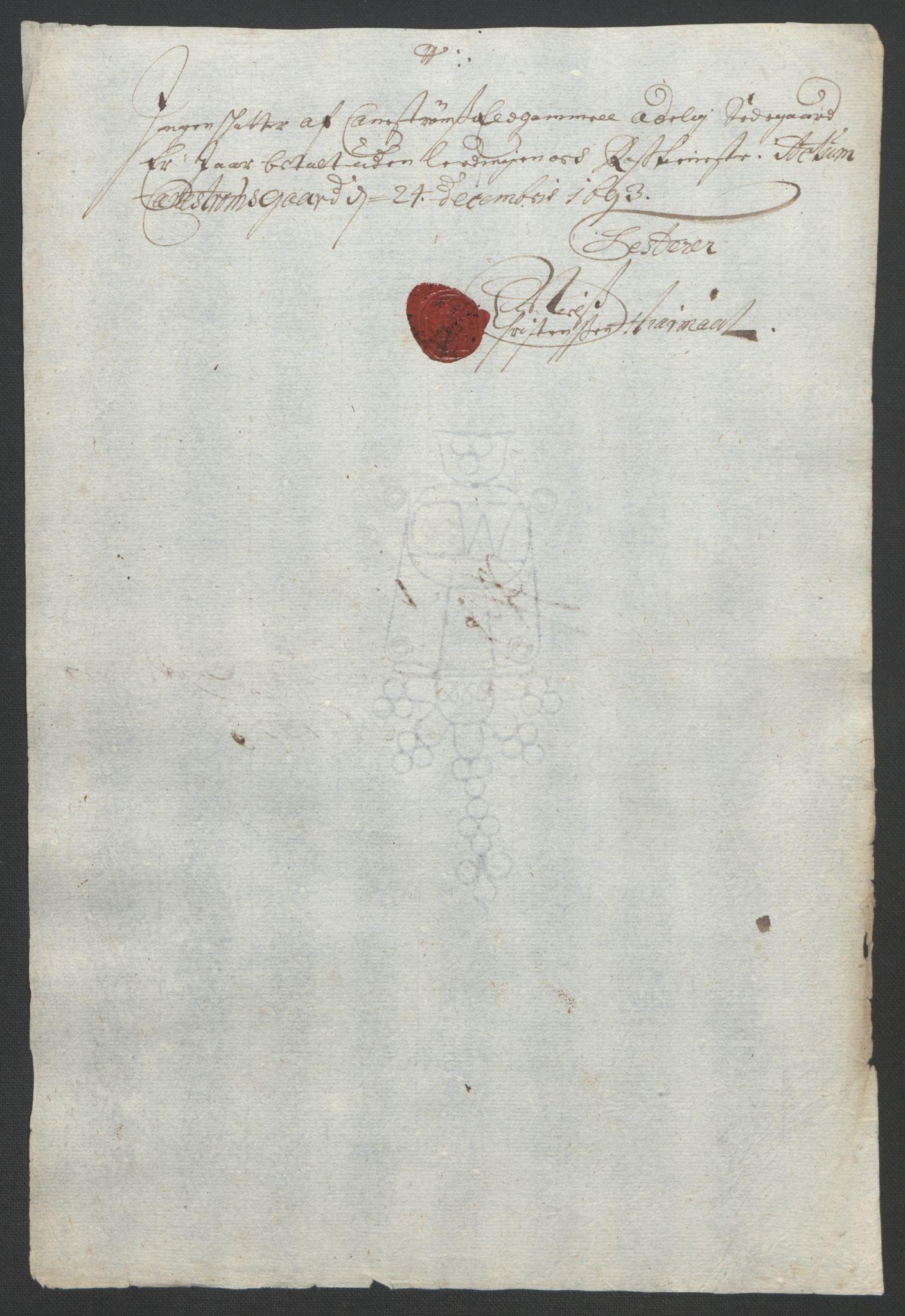 RA, Rentekammeret inntil 1814, Reviderte regnskaper, Fogderegnskap, R56/L3735: Fogderegnskap Nordmøre, 1692-1693, s. 381