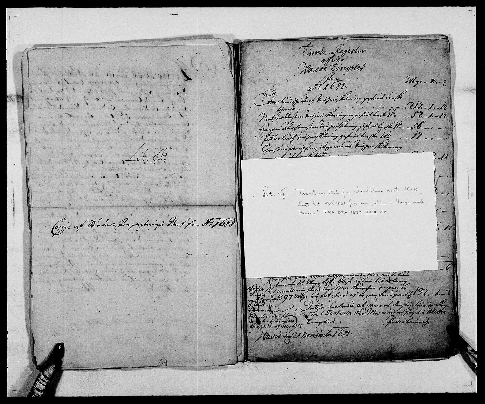 RA, Rentekammeret inntil 1814, Reviderte regnskaper, Fogderegnskap, R69/L4850: Fogderegnskap Finnmark/Vardøhus, 1680-1690, s. 96