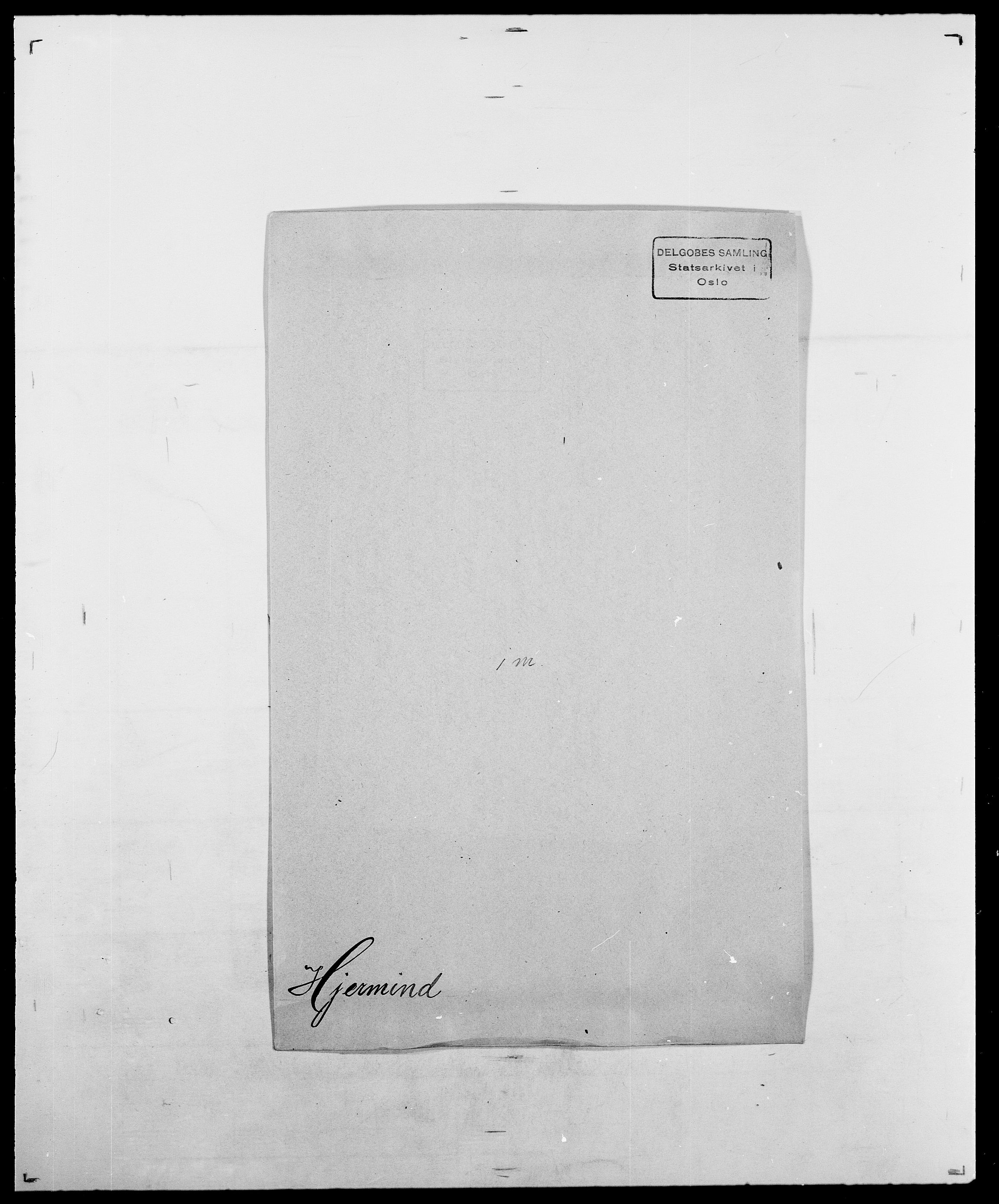 SAO, Delgobe, Charles Antoine - samling, D/Da/L0017: Helander - Hjørne, s. 558