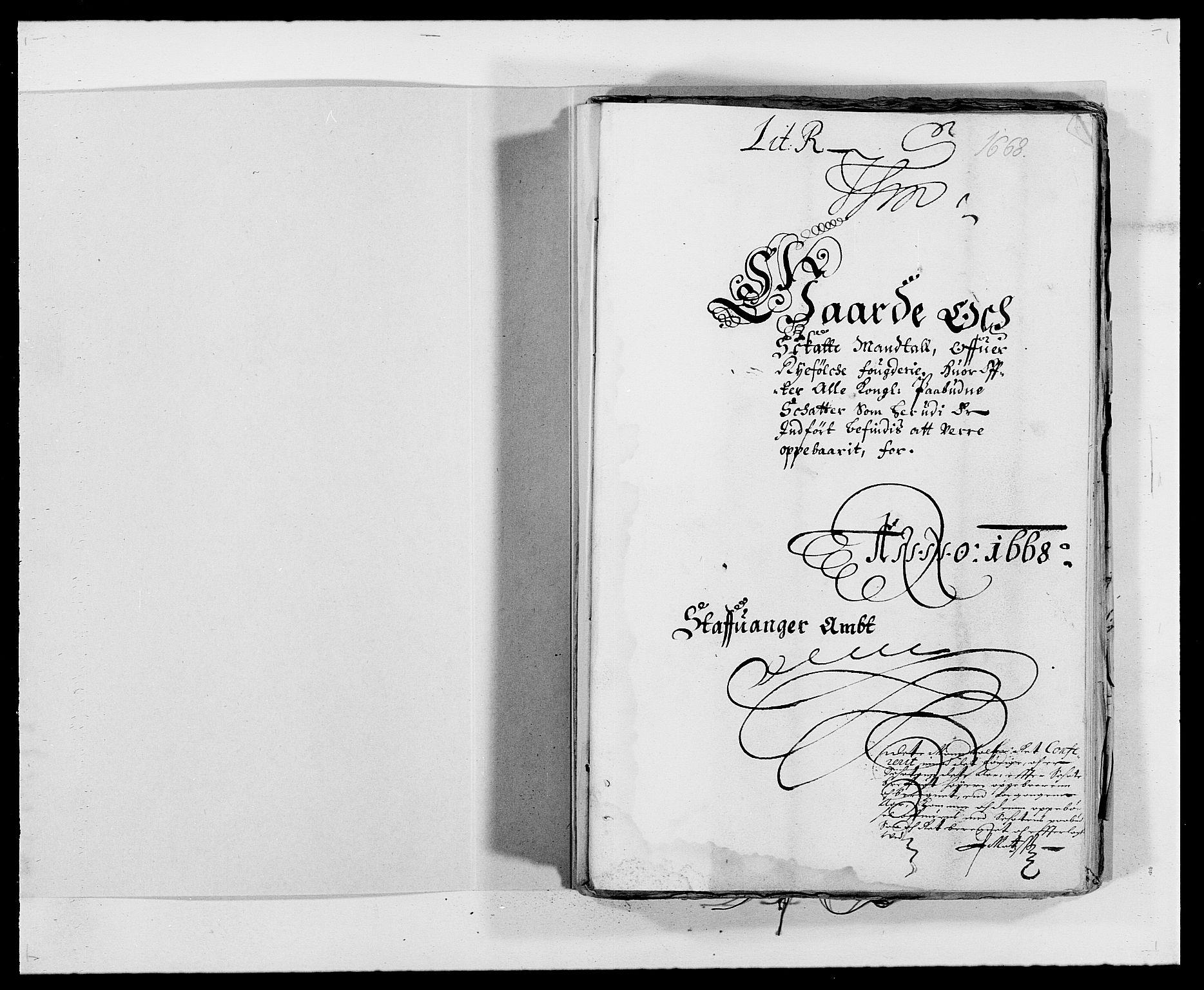 RA, Rentekammeret inntil 1814, Reviderte regnskaper, Fogderegnskap, R47/L2841: Fogderegnskap Ryfylke, 1665-1669, s. 139