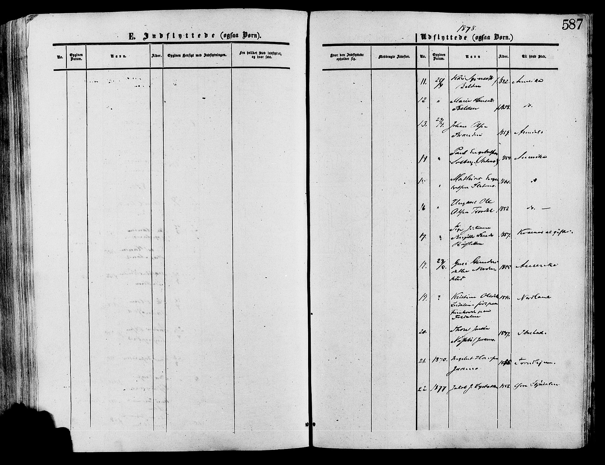 SAH, Lesja prestekontor, Ministerialbok nr. 8, 1854-1880, s. 587