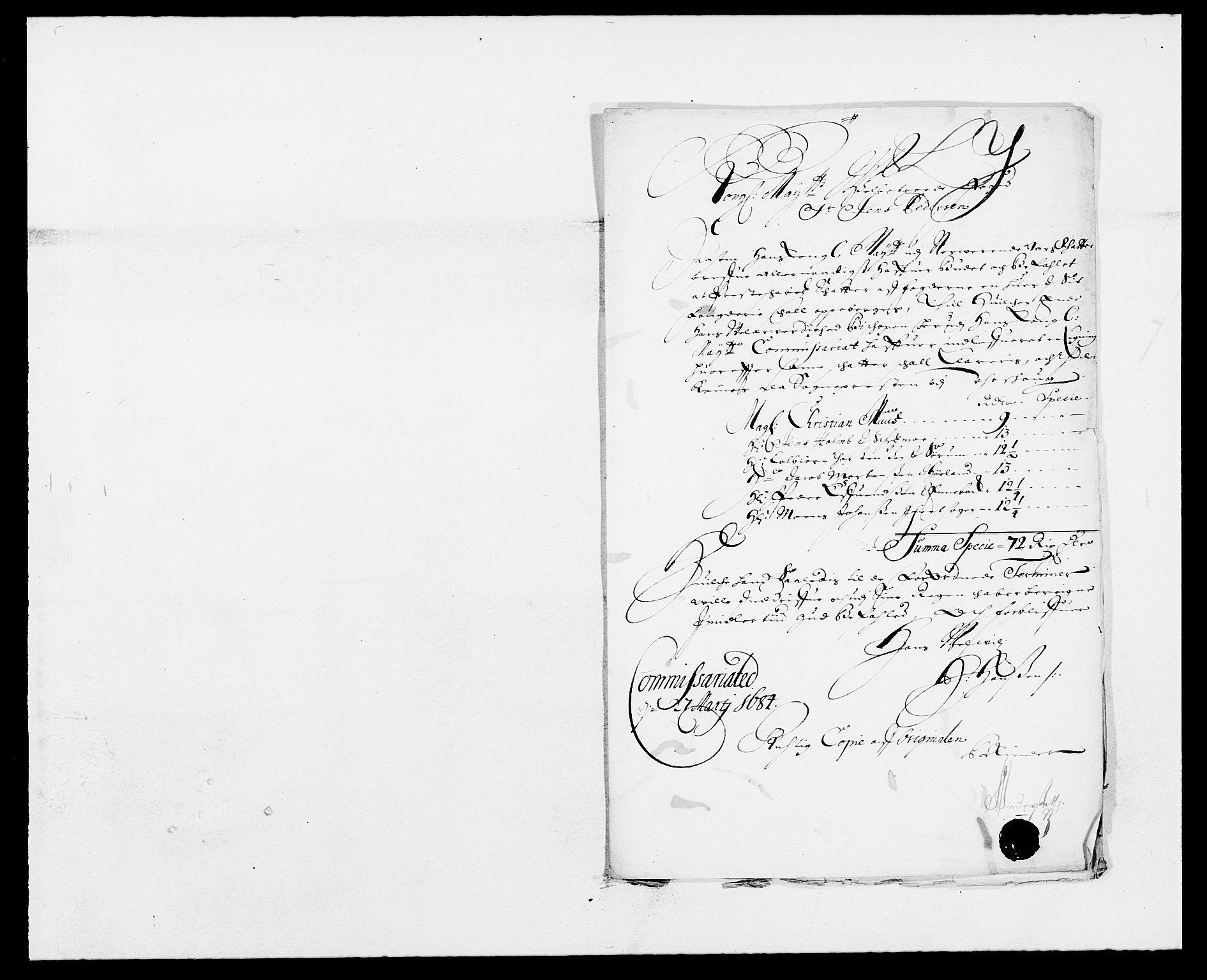 RA, Rentekammeret inntil 1814, Reviderte regnskaper, Fogderegnskap, R11/L0571: Fogderegnskap Nedre Romerike, 1683-1685, s. 321