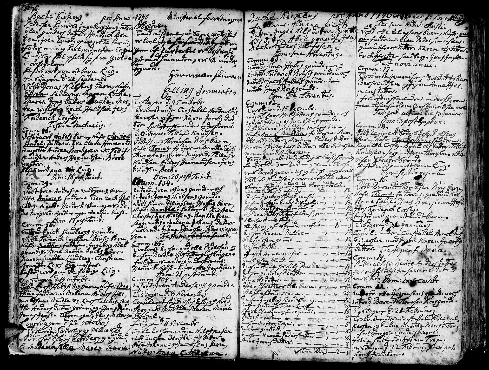 SAT, Ministerialprotokoller, klokkerbøker og fødselsregistre - Sør-Trøndelag, 606/L0276: Ministerialbok nr. 606A01 /2, 1727-1779, s. 36-37