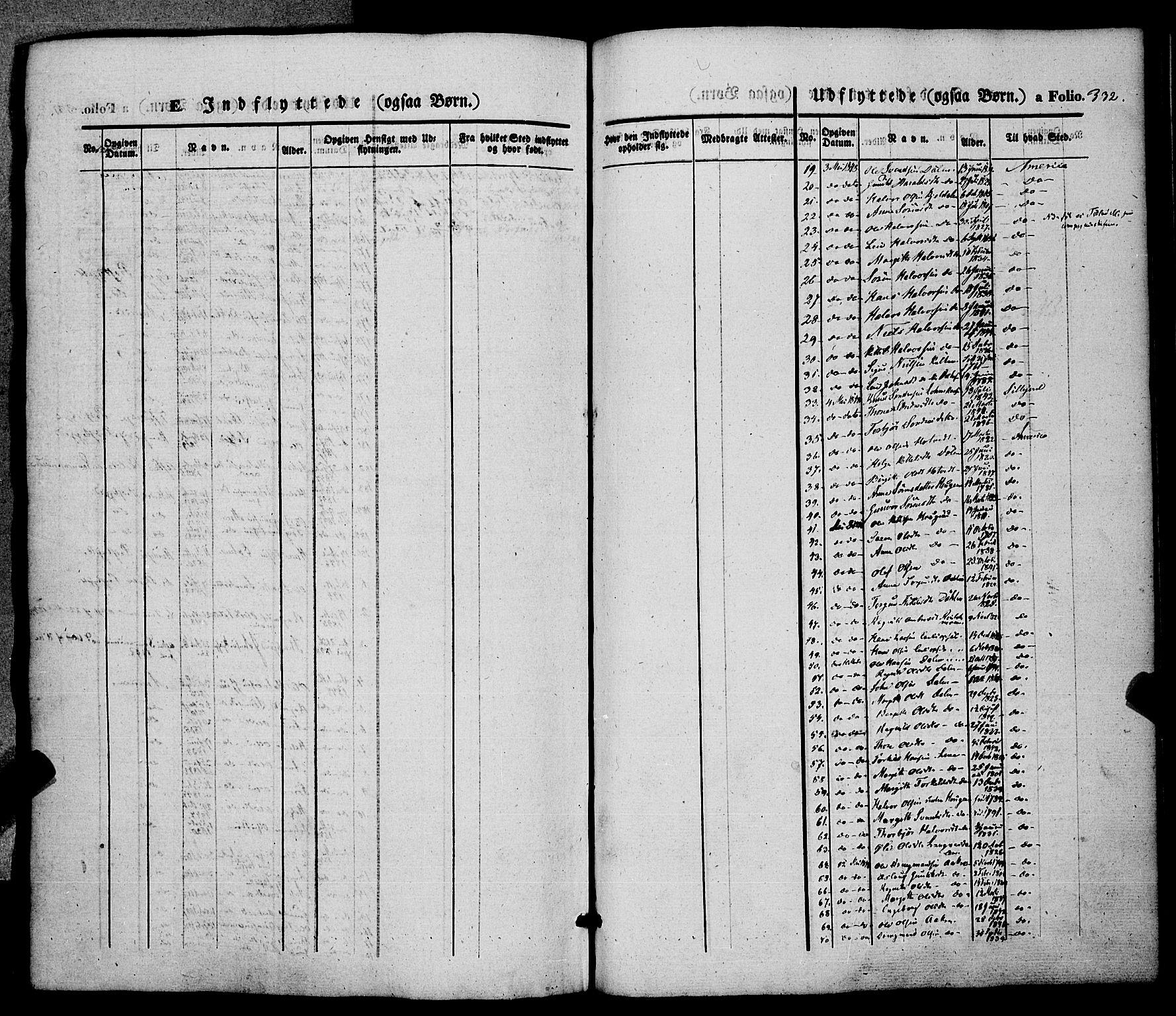 SAKO, Hjartdal kirkebøker, F/Fa/L0008: Ministerialbok nr. I 8, 1844-1859, s. 332