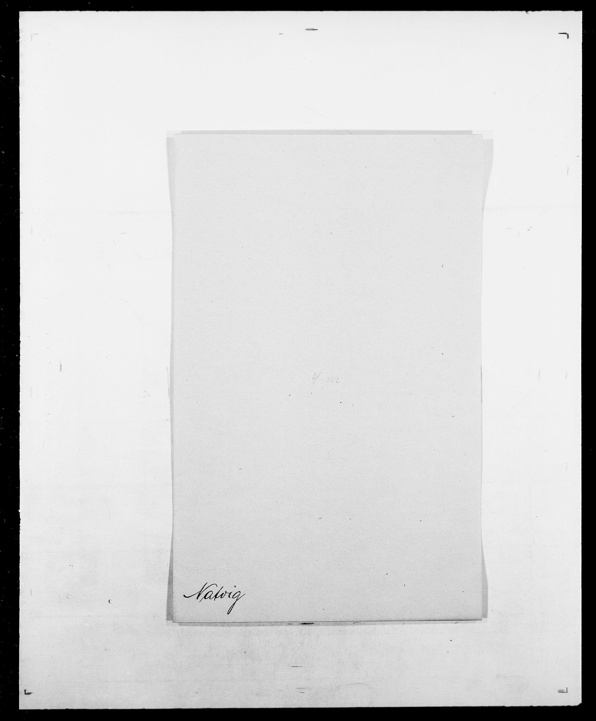 SAO, Delgobe, Charles Antoine - samling, D/Da/L0028: Naaden - Nøvik, s. 68