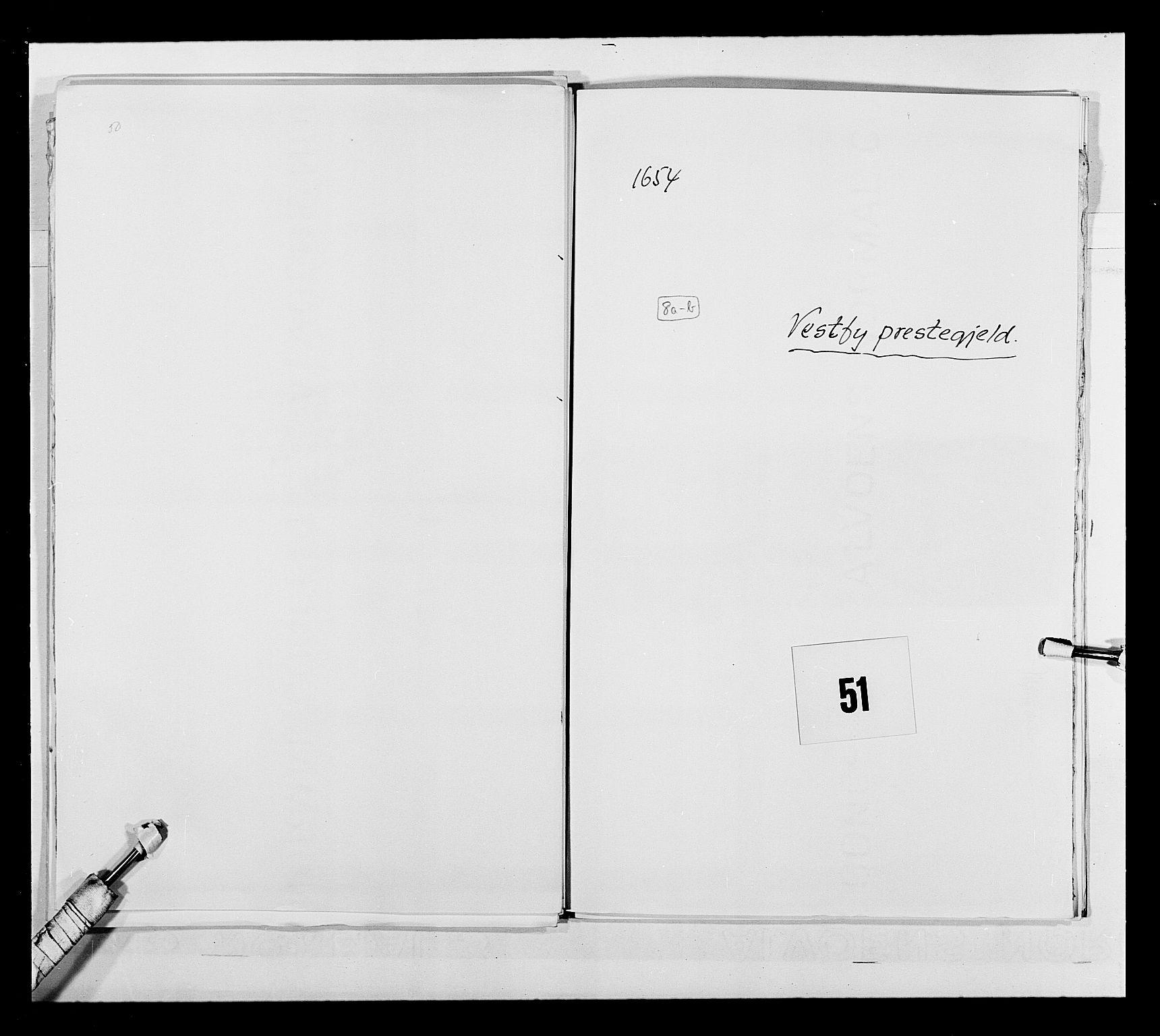 RA, Stattholderembetet 1572-1771, Ek/L0030: Jordebøker 1633-1658:, 1654, s. 240
