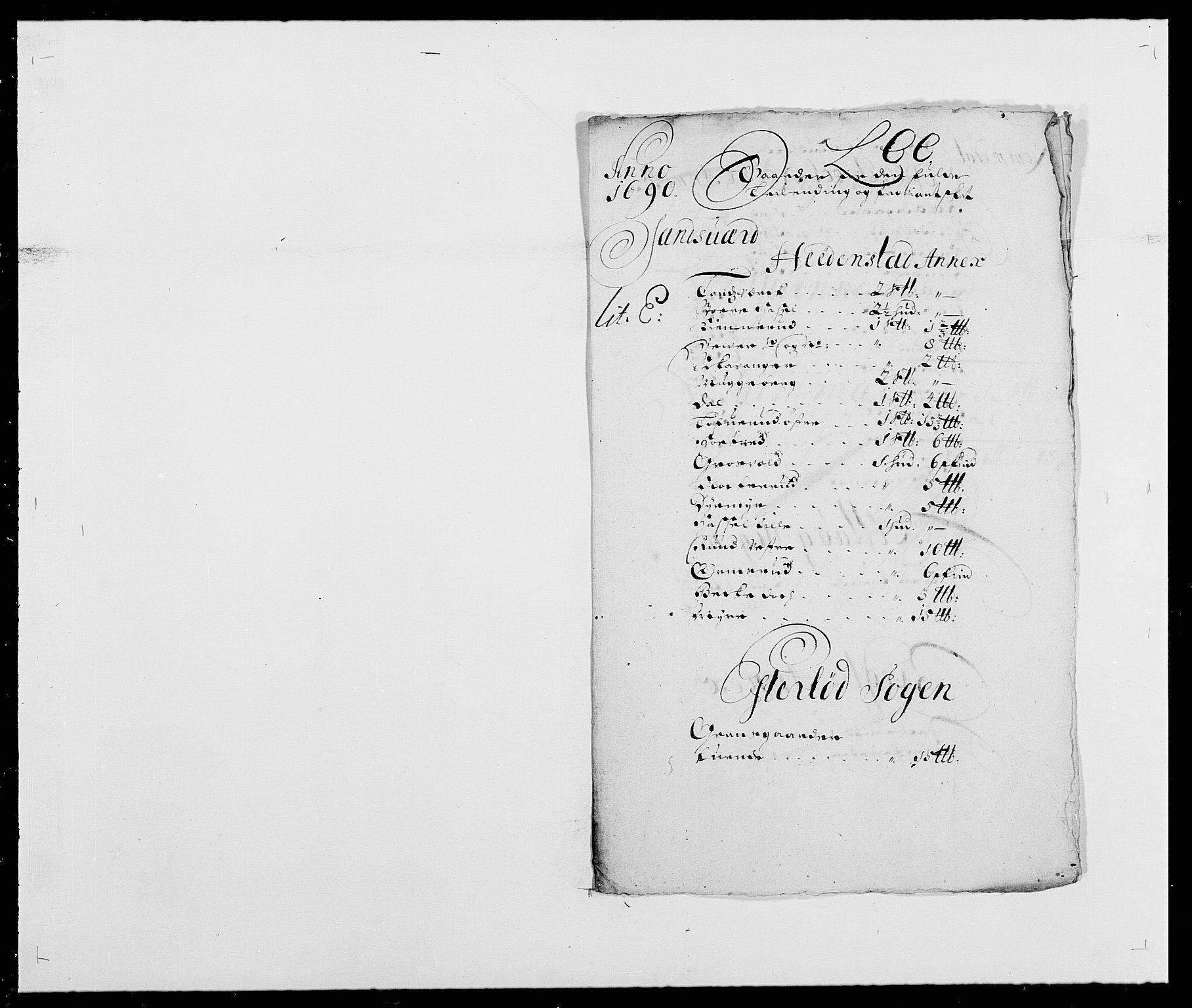 RA, Rentekammeret inntil 1814, Reviderte regnskaper, Fogderegnskap, R24/L1573: Fogderegnskap Numedal og Sandsvær, 1687-1691, s. 428