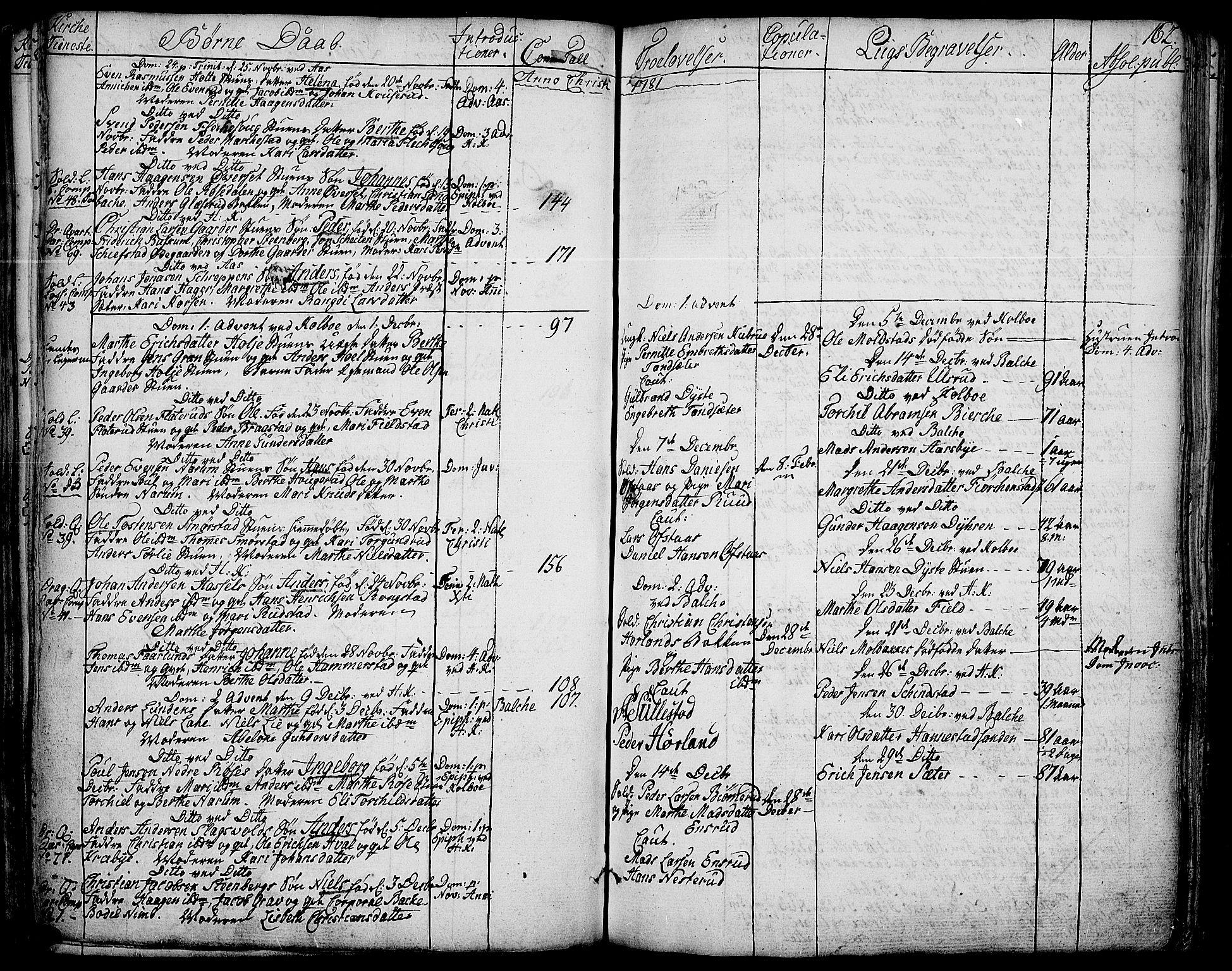 SAH, Toten prestekontor, Ministerialbok nr. 6, 1773-1793, s. 162