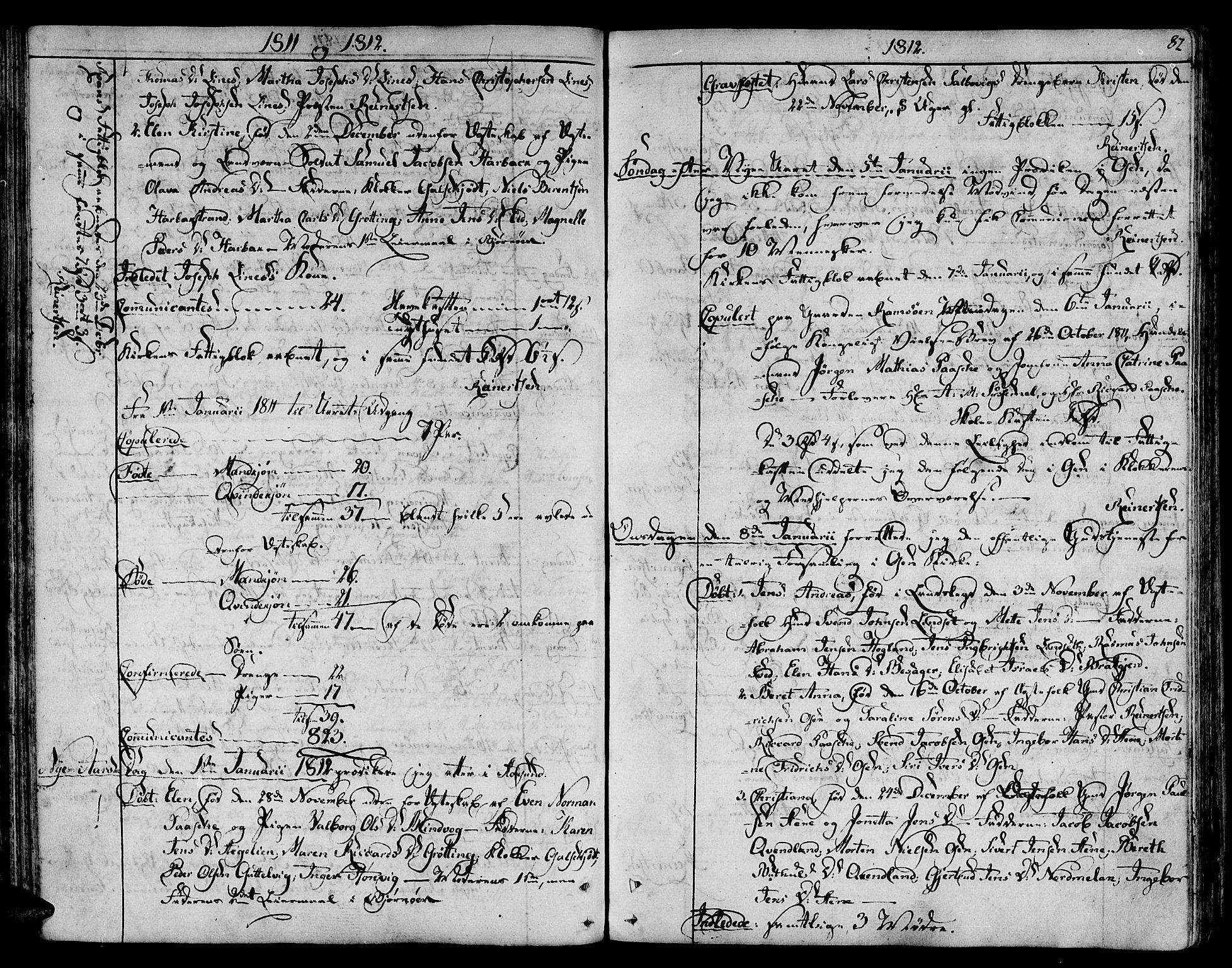 SAT, Ministerialprotokoller, klokkerbøker og fødselsregistre - Sør-Trøndelag, 657/L0701: Ministerialbok nr. 657A02, 1802-1831, s. 82