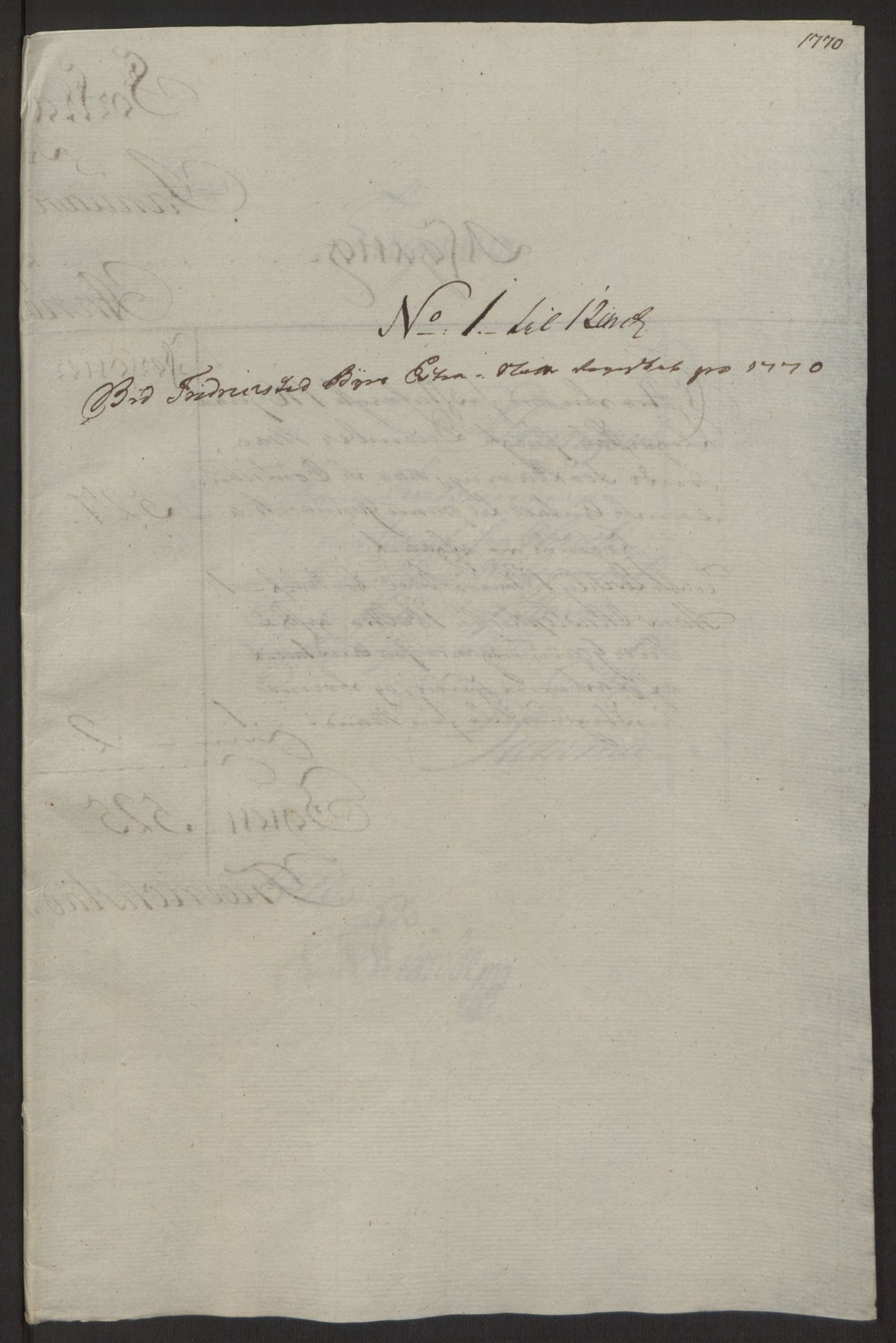 RA, Rentekammeret inntil 1814, Reviderte regnskaper, Byregnskaper, R/Rb/L0029: [B3] Kontribusjonsregnskap, 1762-1772, s. 343