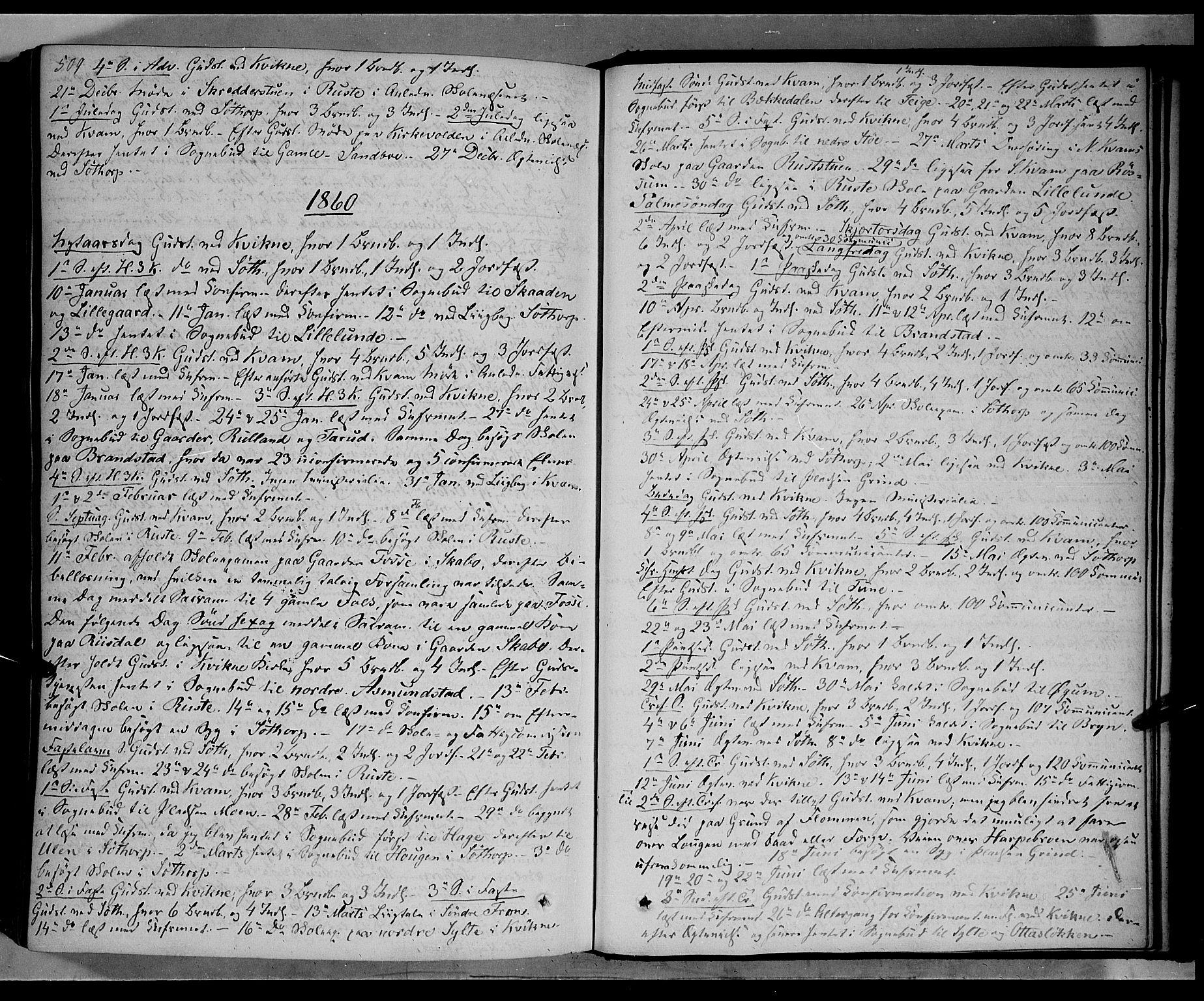 SAH, Nord-Fron prestekontor, Ministerialbok nr. 1, 1851-1864, s. 509