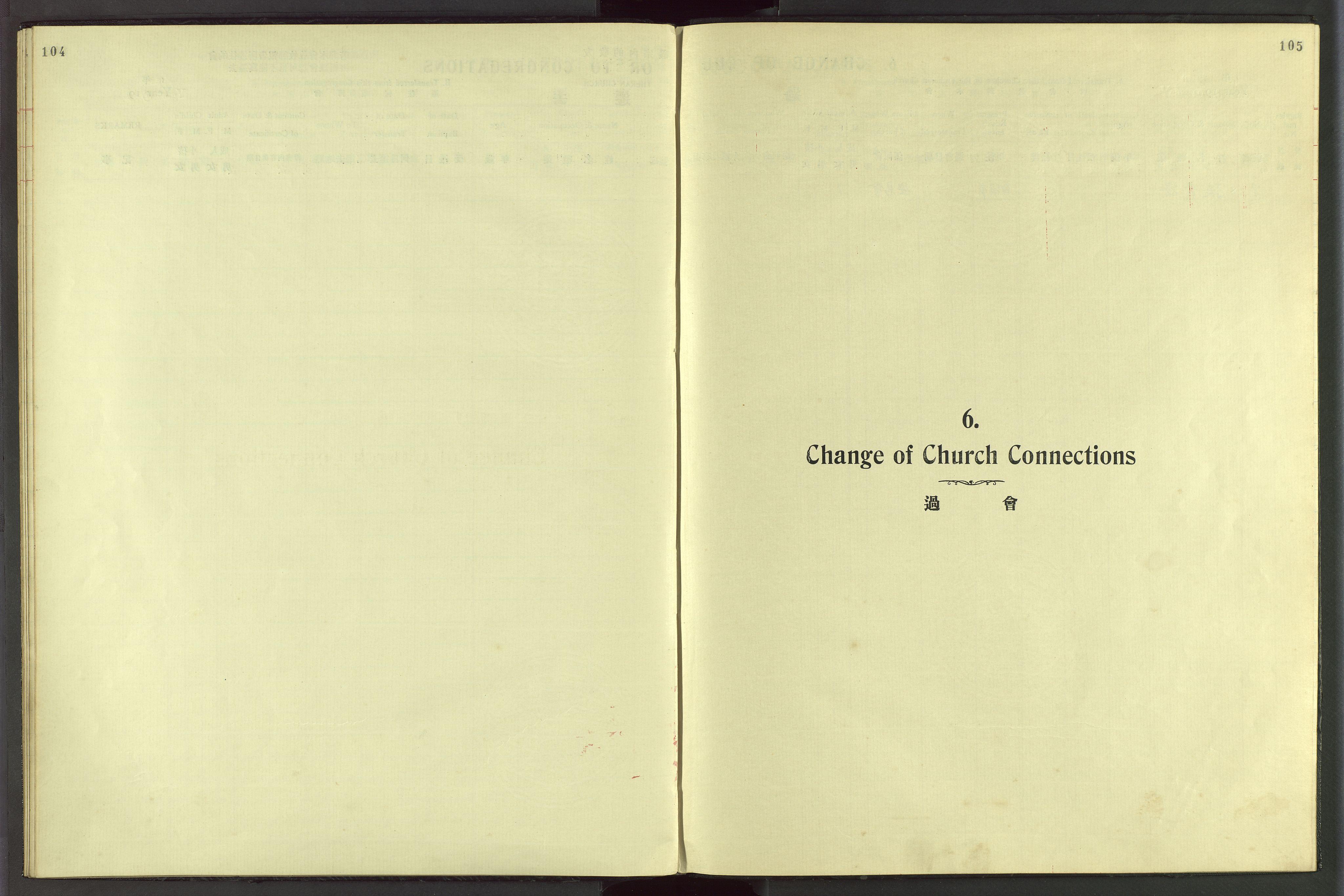 VID, Det Norske Misjonsselskap - utland - Kina (Hunan), Dm/L0049: Ministerialbok nr. 87, 1908-1947, s. 104-105