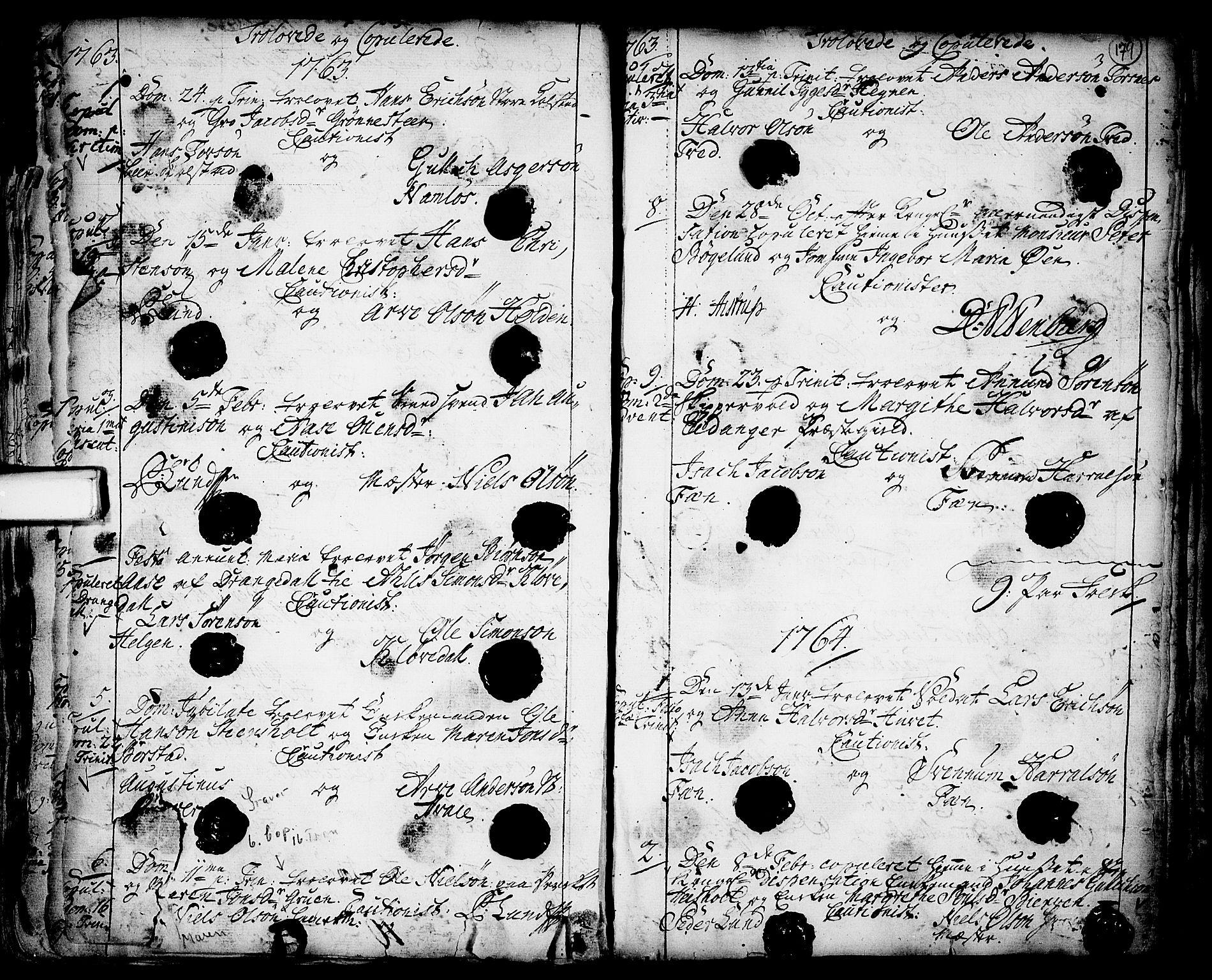 SAKO, Holla kirkebøker, F/Fa/L0001: Ministerialbok nr. 1, 1717-1779, s. 179