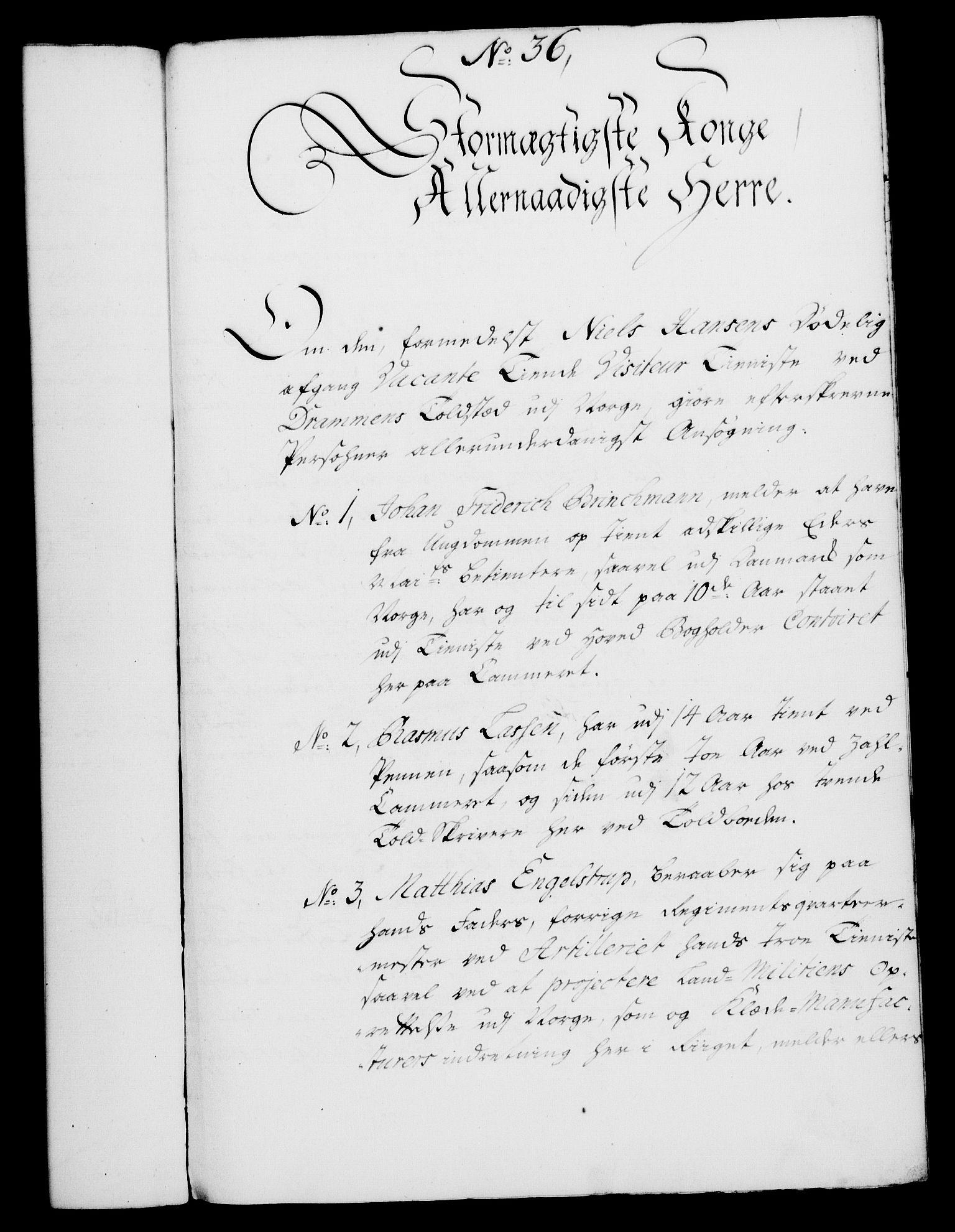RA, Rentekammeret, Kammerkanselliet, G/Gf/Gfa/L0028: Norsk relasjons- og resolusjonsprotokoll (merket RK 52.28), 1745-1746, s. 239